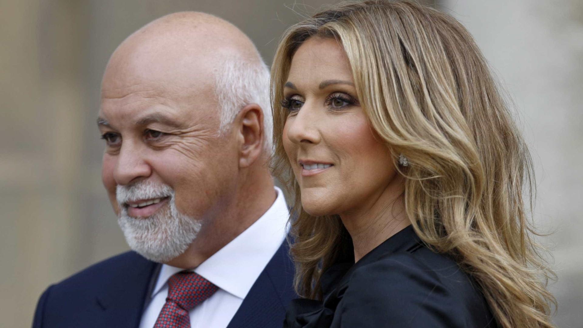 Céline Dion ainda pede conselhos ao falecido marido