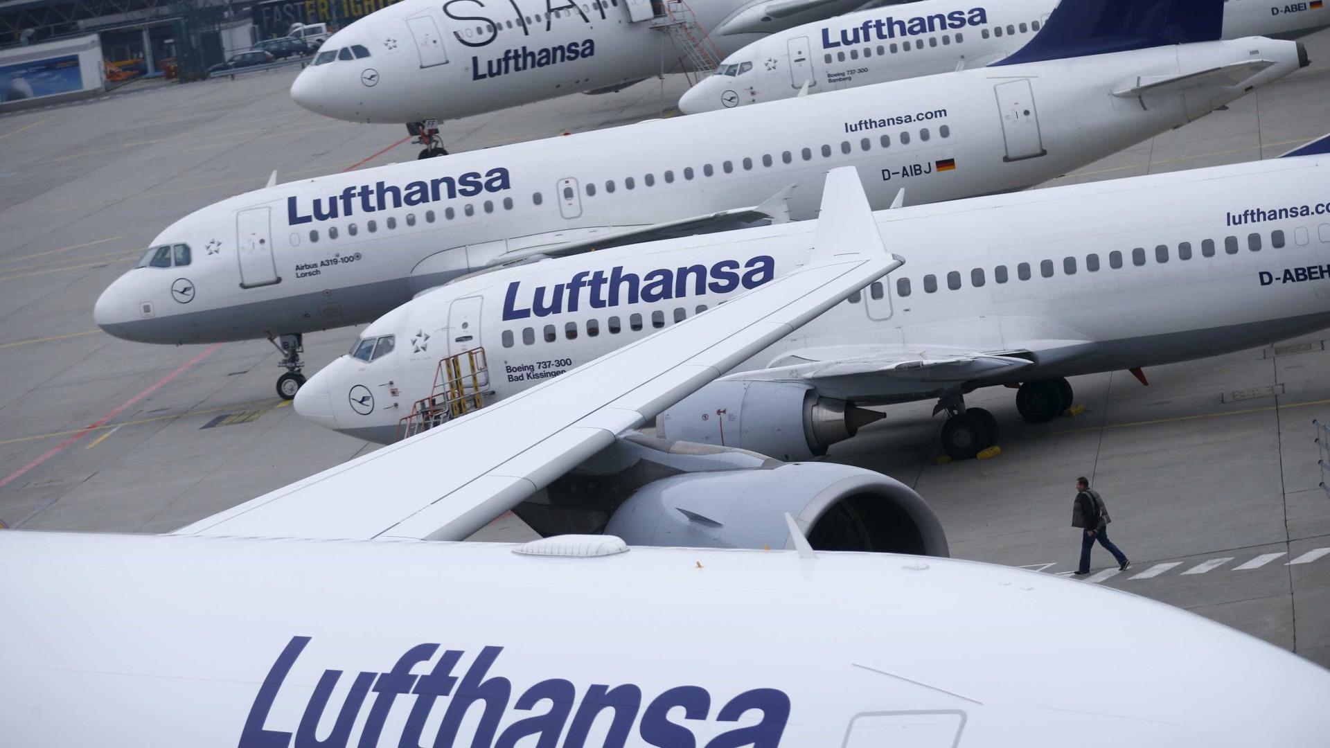 Lufthansa vai contratar mais 8.000 trabalhadores até final deste ano