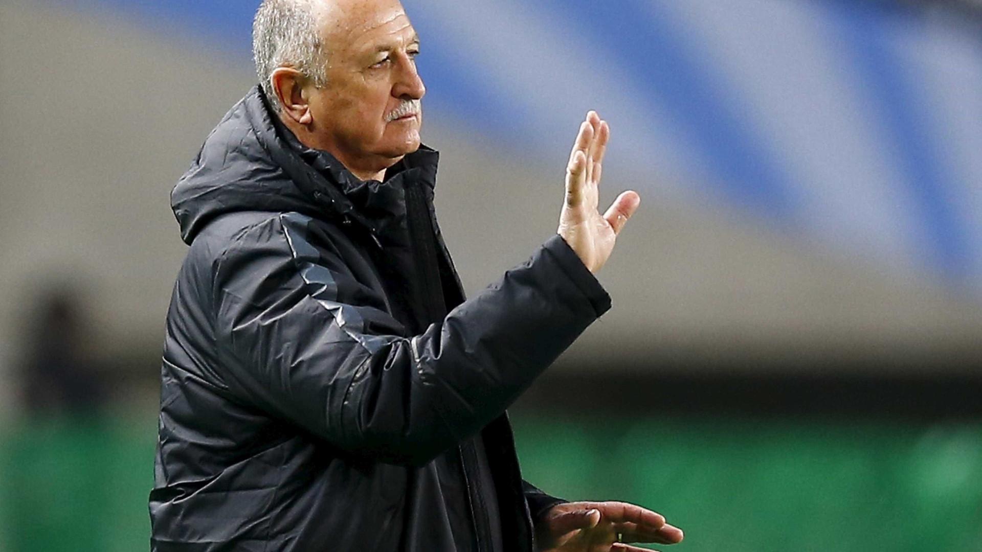 Scolari rejeita proposta do Sporting