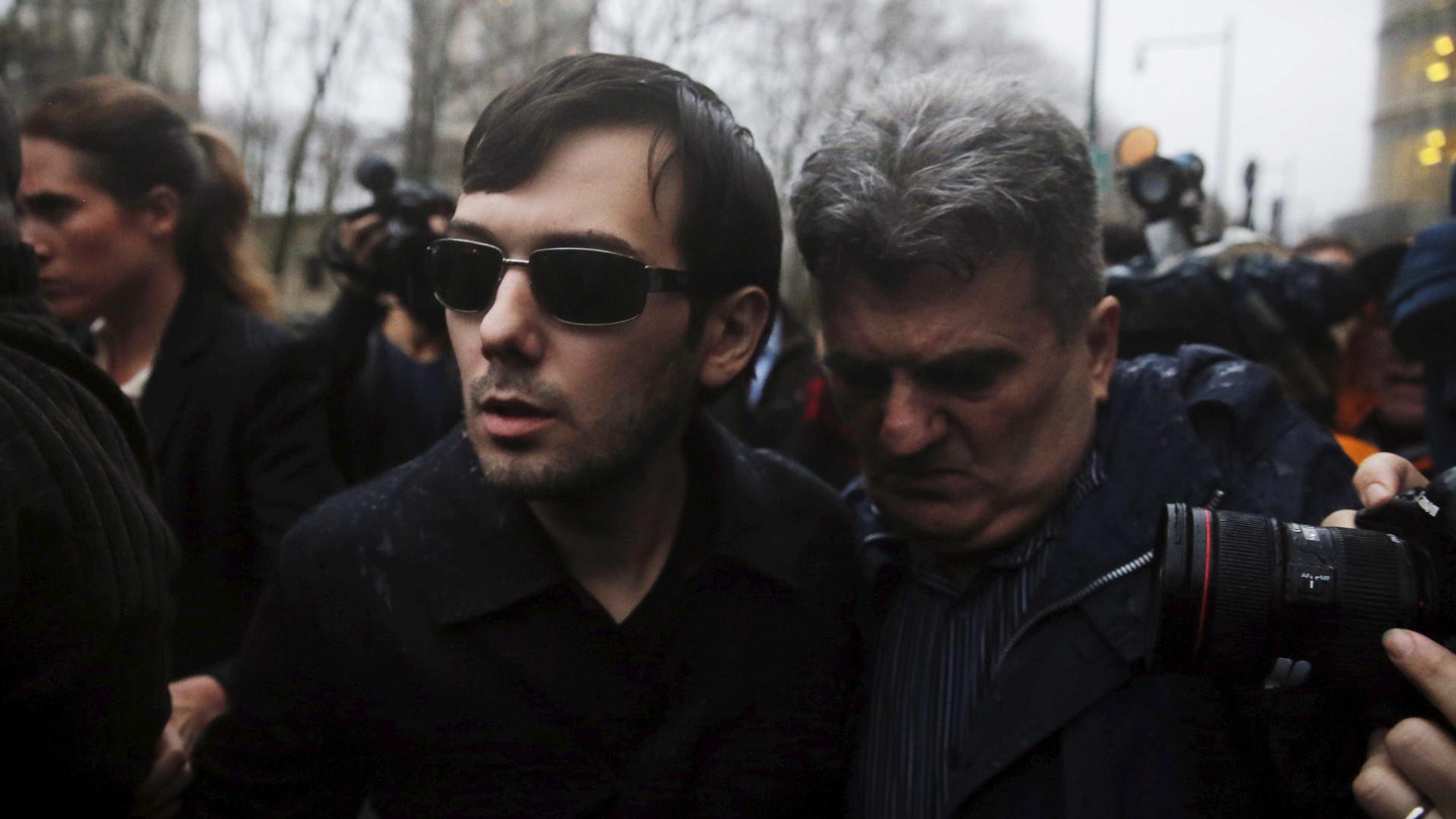 Sete anos de prisão para farmacêutico mais odiado do mundo