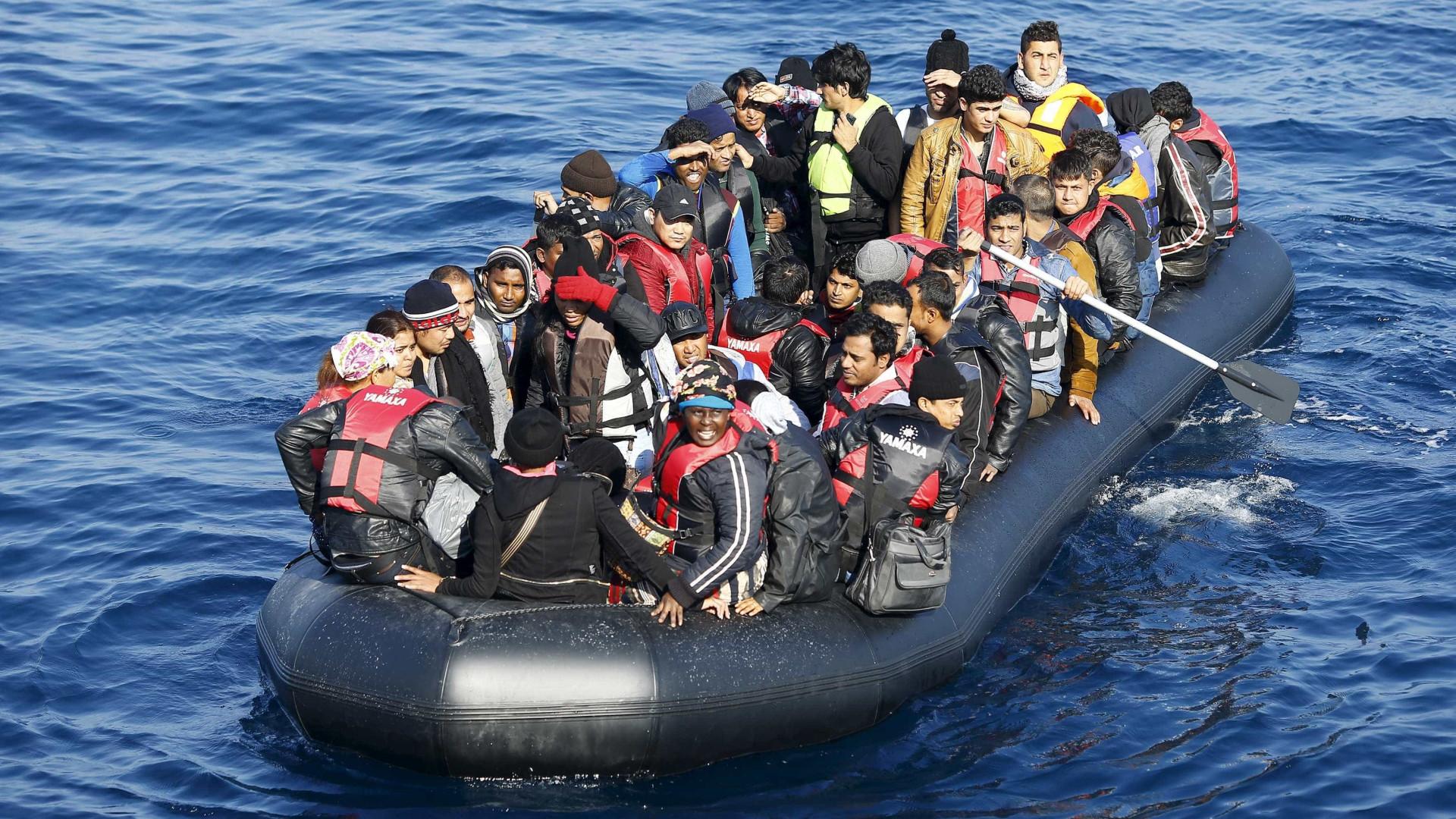 Travessias ilegais para UE caíram um terço em janeiro para 6.760