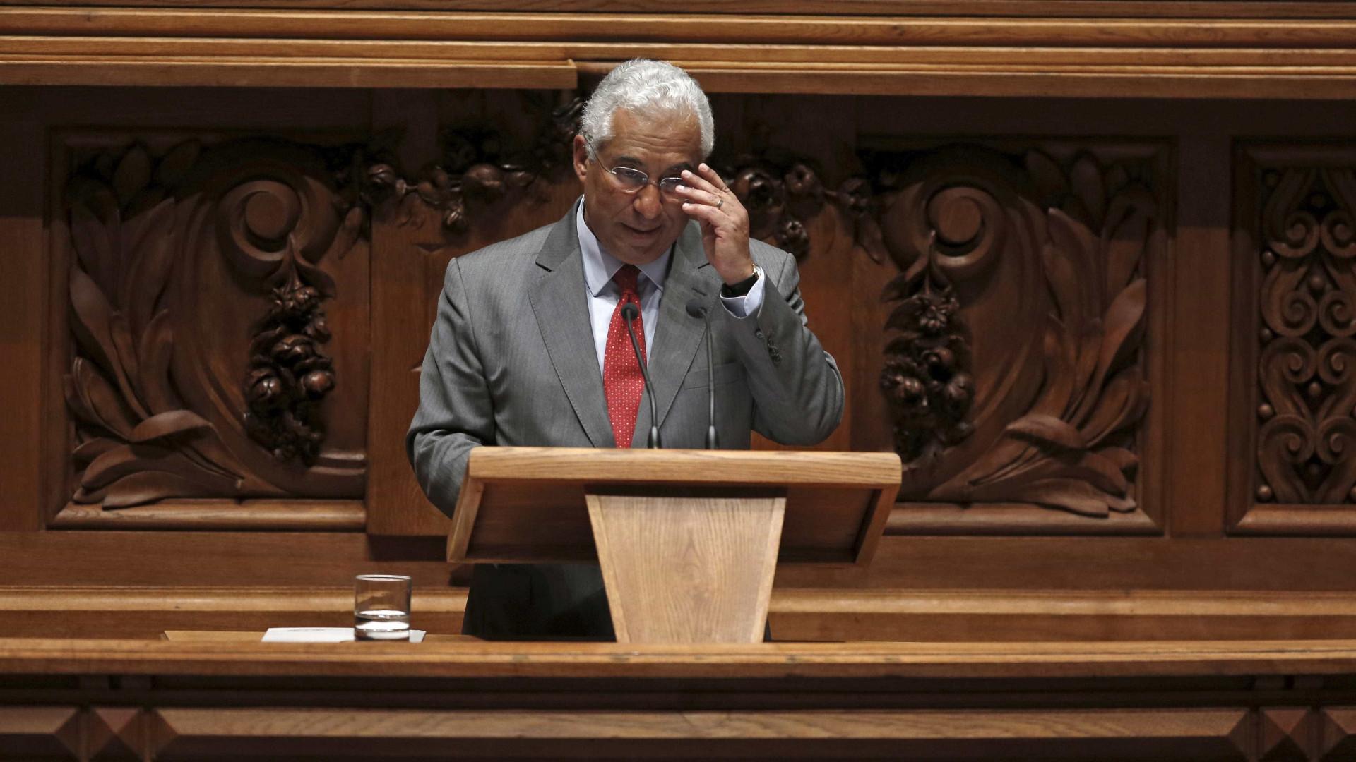 Costa nega ter dado ordens ao PS para mudar sentido de voto