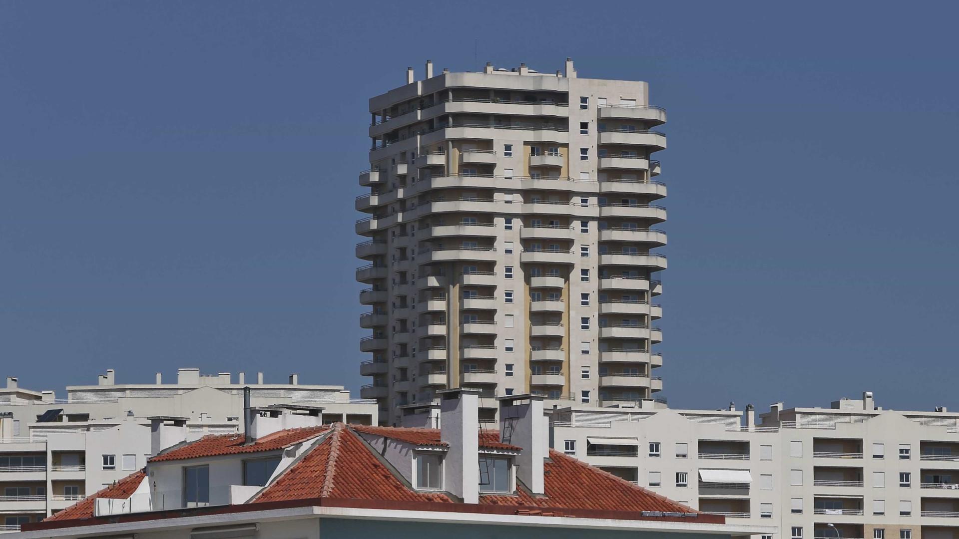 Valor da avaliação bancária das casas subiu para 1.187 euros por m2