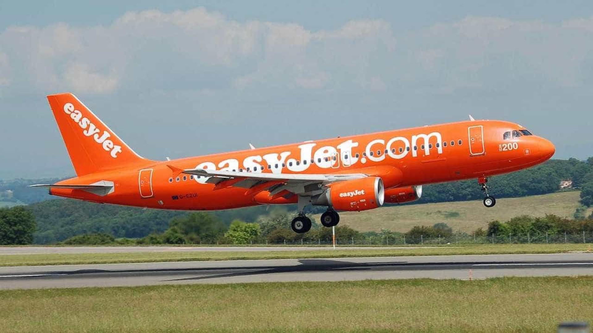 Receitas da easyJet subiram 14,4% por causa do aumento de passageiros