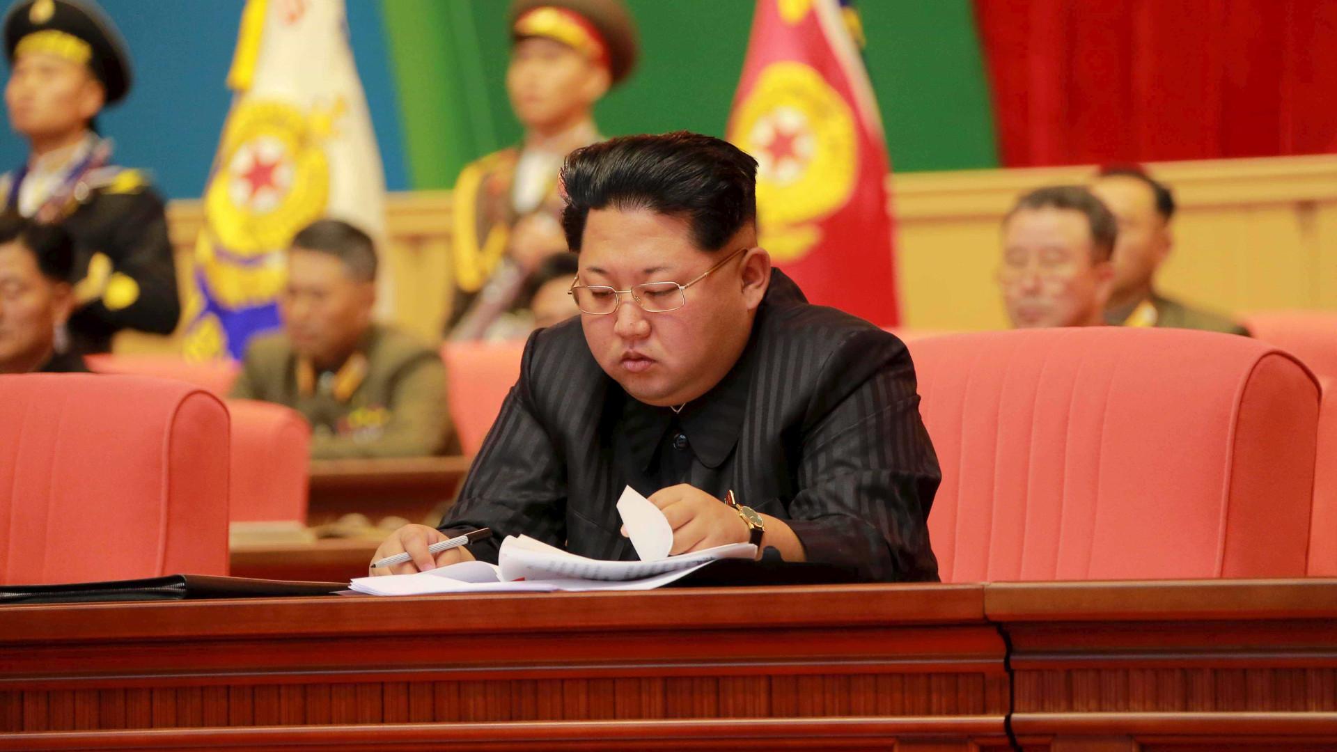 Kim Jong-Un poderá ser escoltado por aviões de combate até Singapura