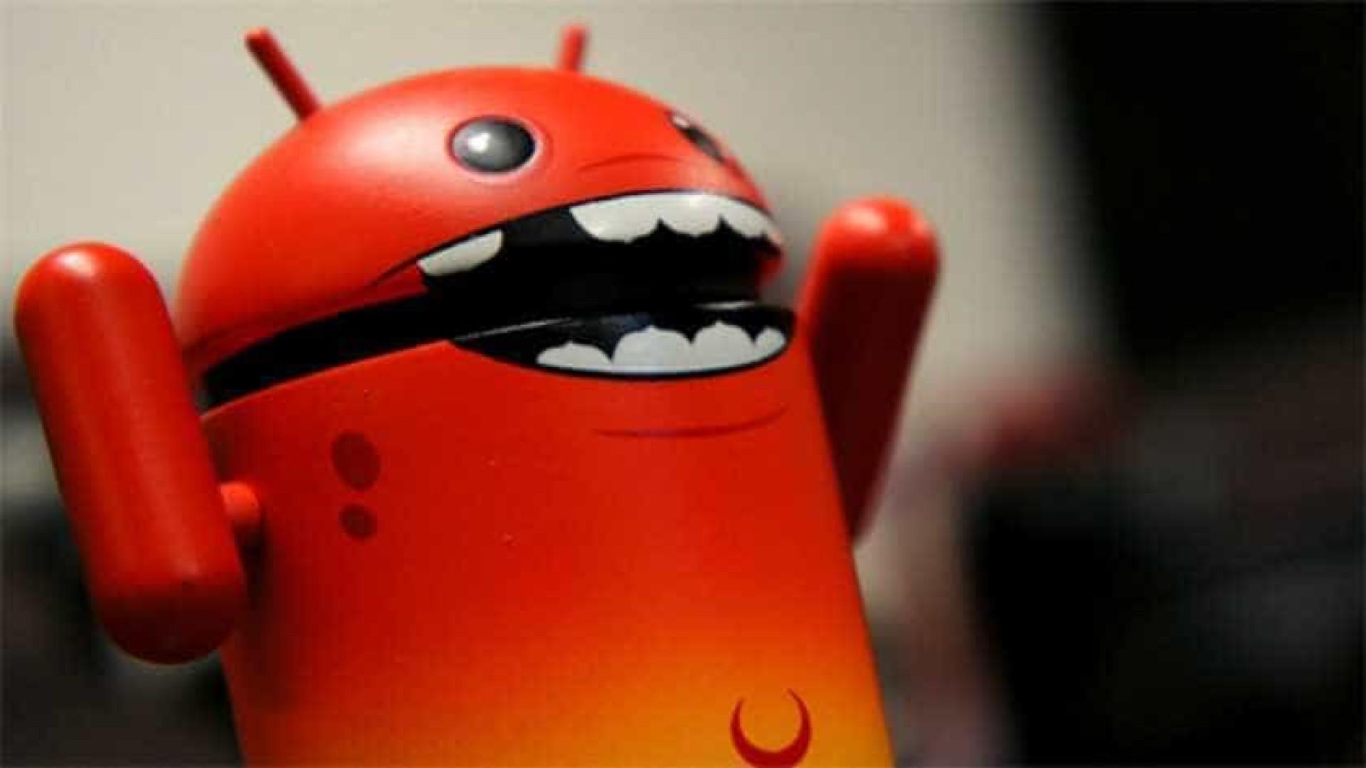 Maioria dos Android é vulnerável a ataque que grava ecrã