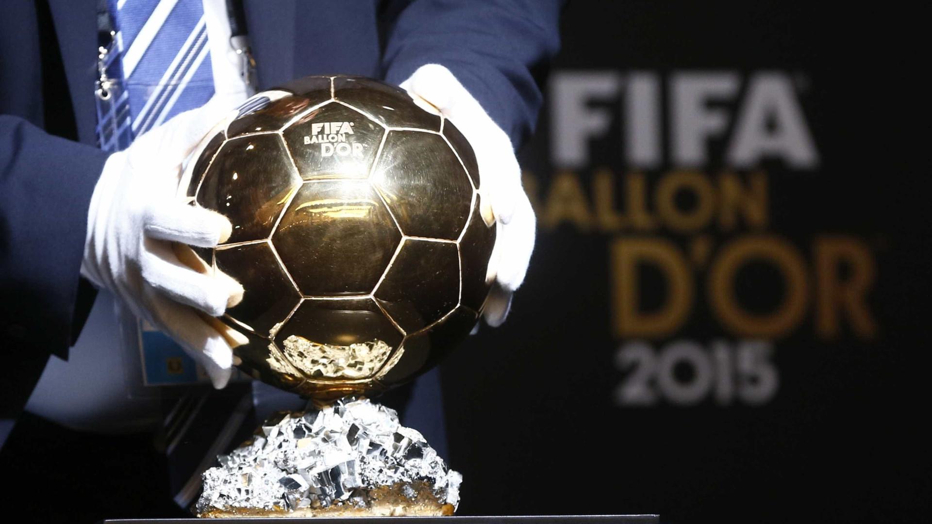 Atribuição da Bola de Ouro já tem data f0d4a799d2521