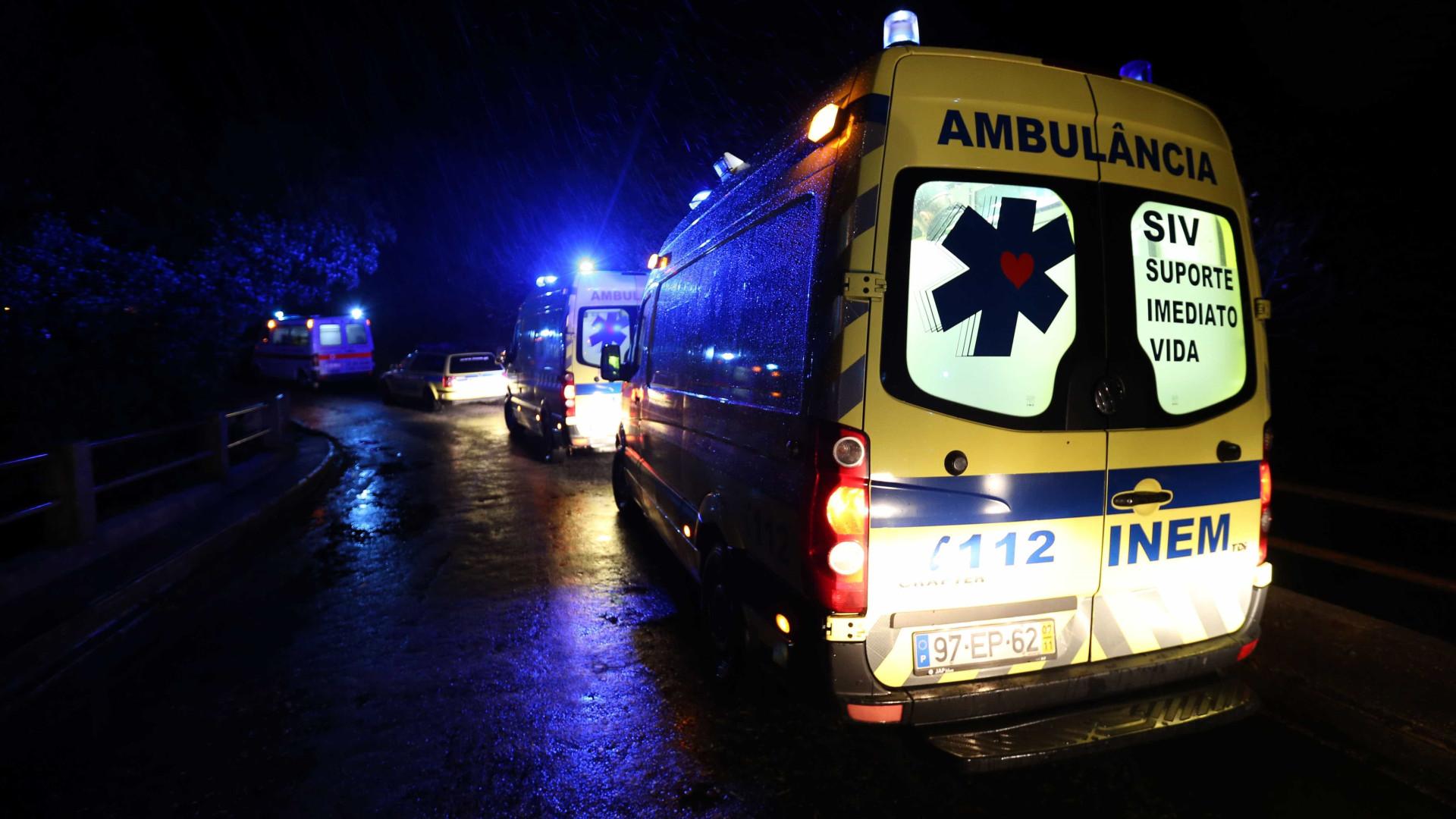 Atropelamento rodoviário em Faro faz um ferido grave