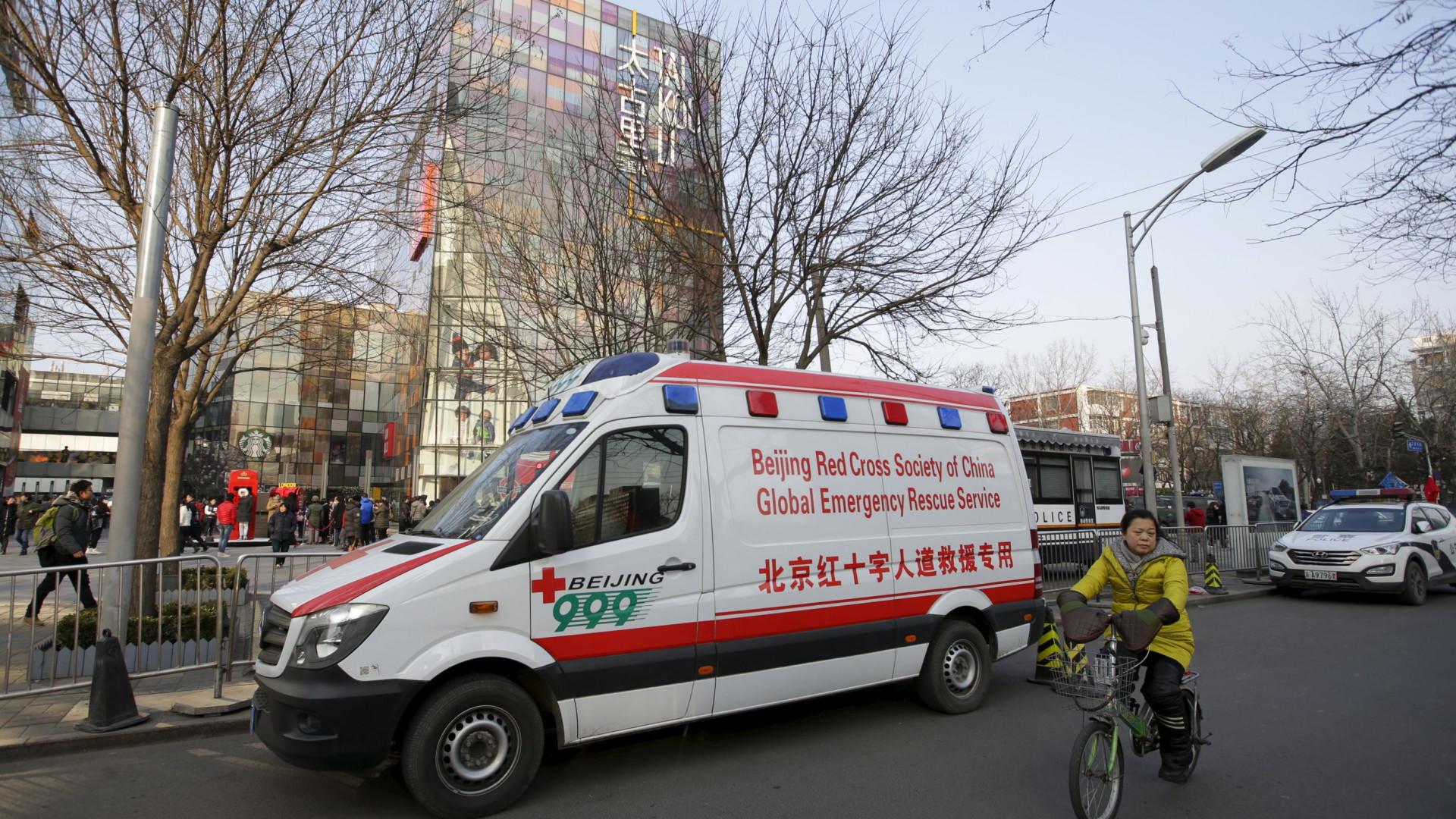 Ataque com machado numa loja faz dois mortos e nove feridos na China