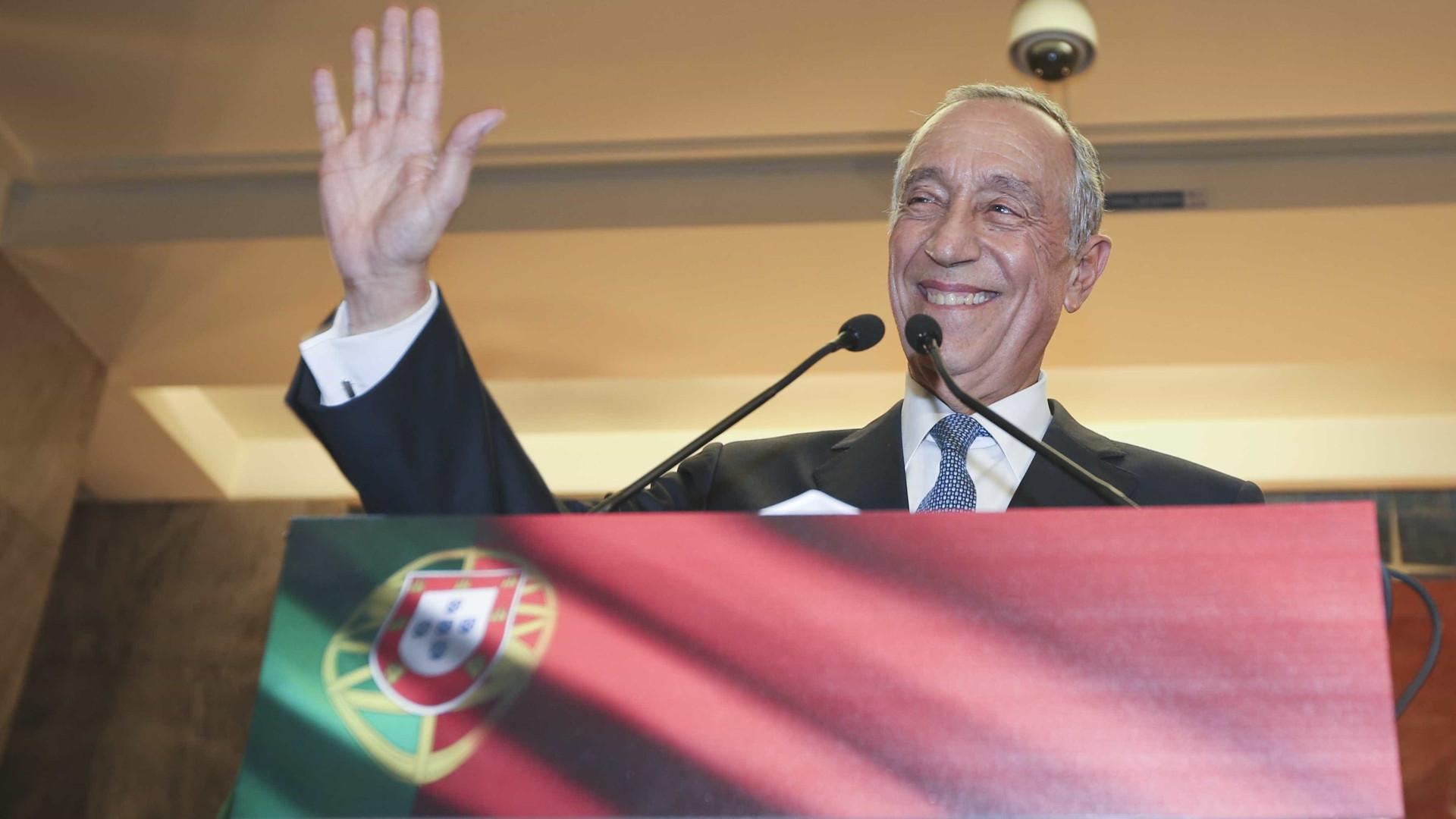 Marcelo felicita rei de Espanha pelos 40 anos da Constituição