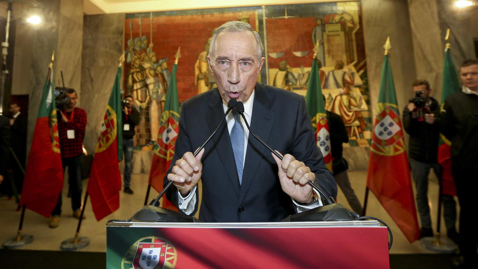 Para Maria Vieira, o pior Presidente da República de sempre é Marcelo