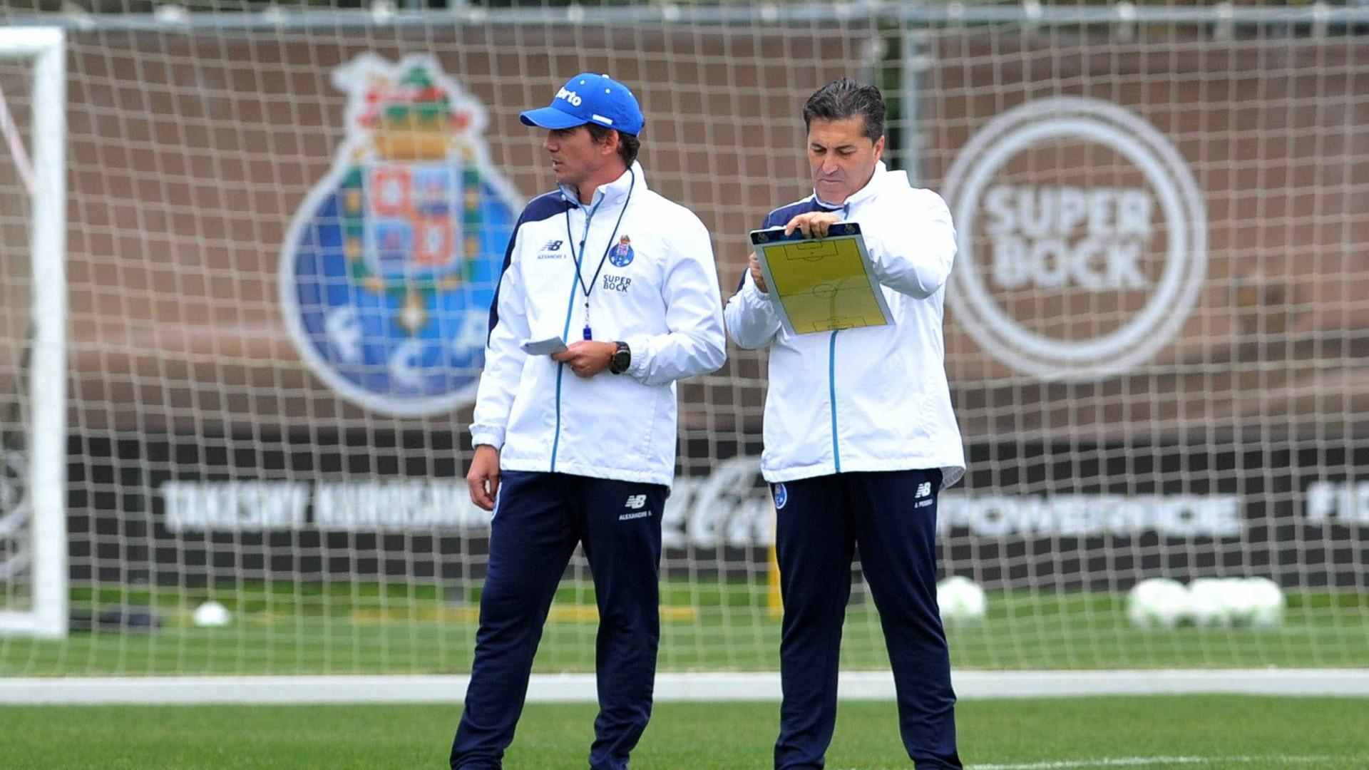 a1a3821aca Oito ausências no regresso do FC Porto aos treinos para a receção ao União