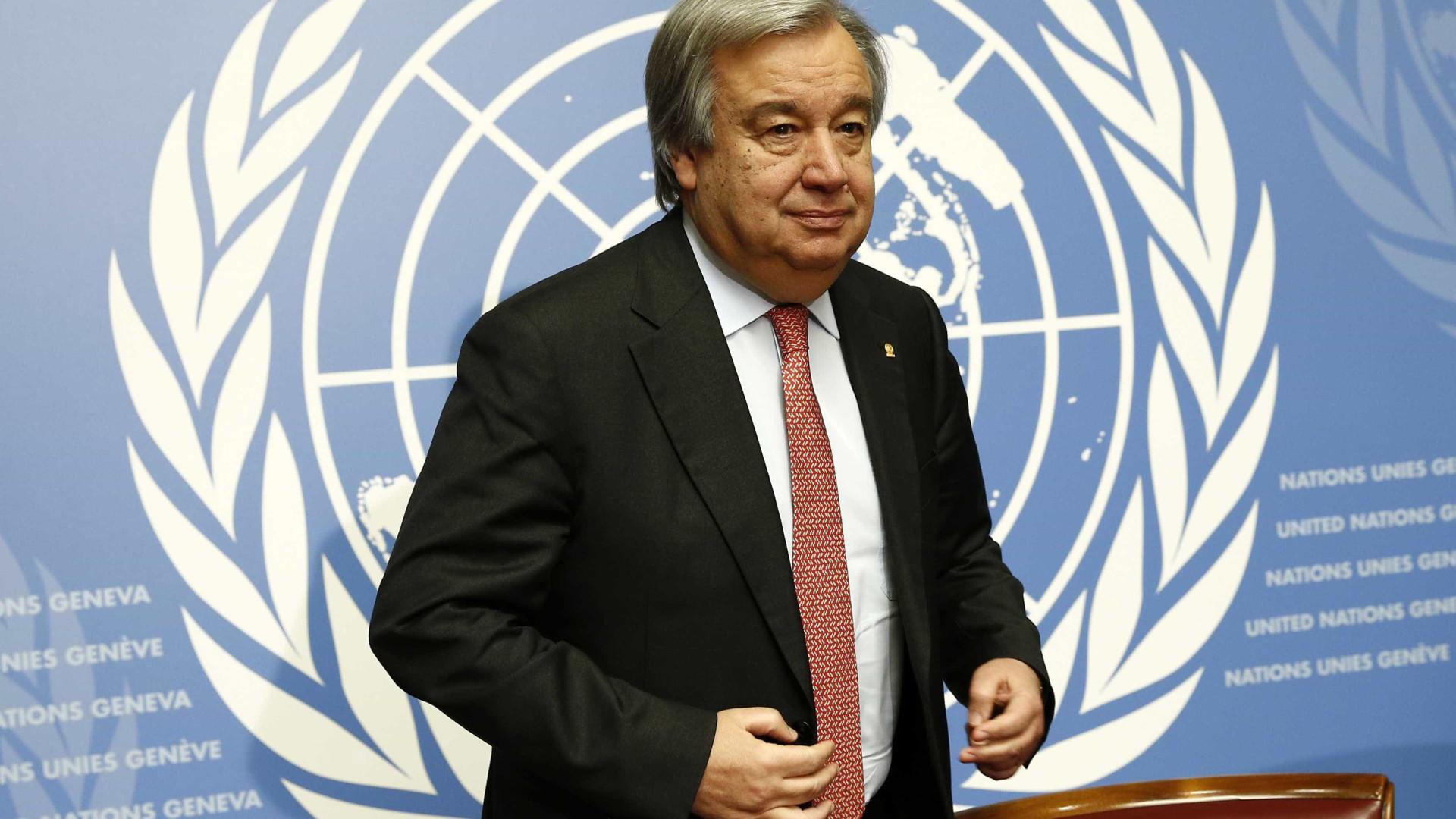 Guterres apoia paz na Colômbia em visita marcada por crise na Venezuela