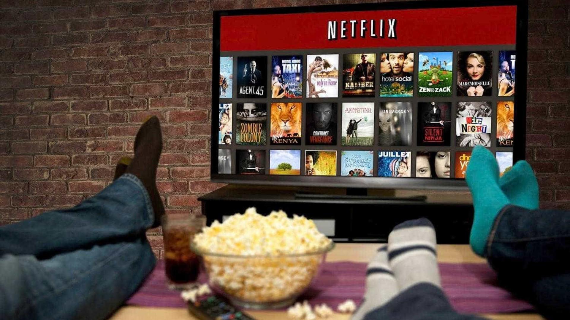 O esperado aconteceu. Netflix é mais popular que televisão tradicional