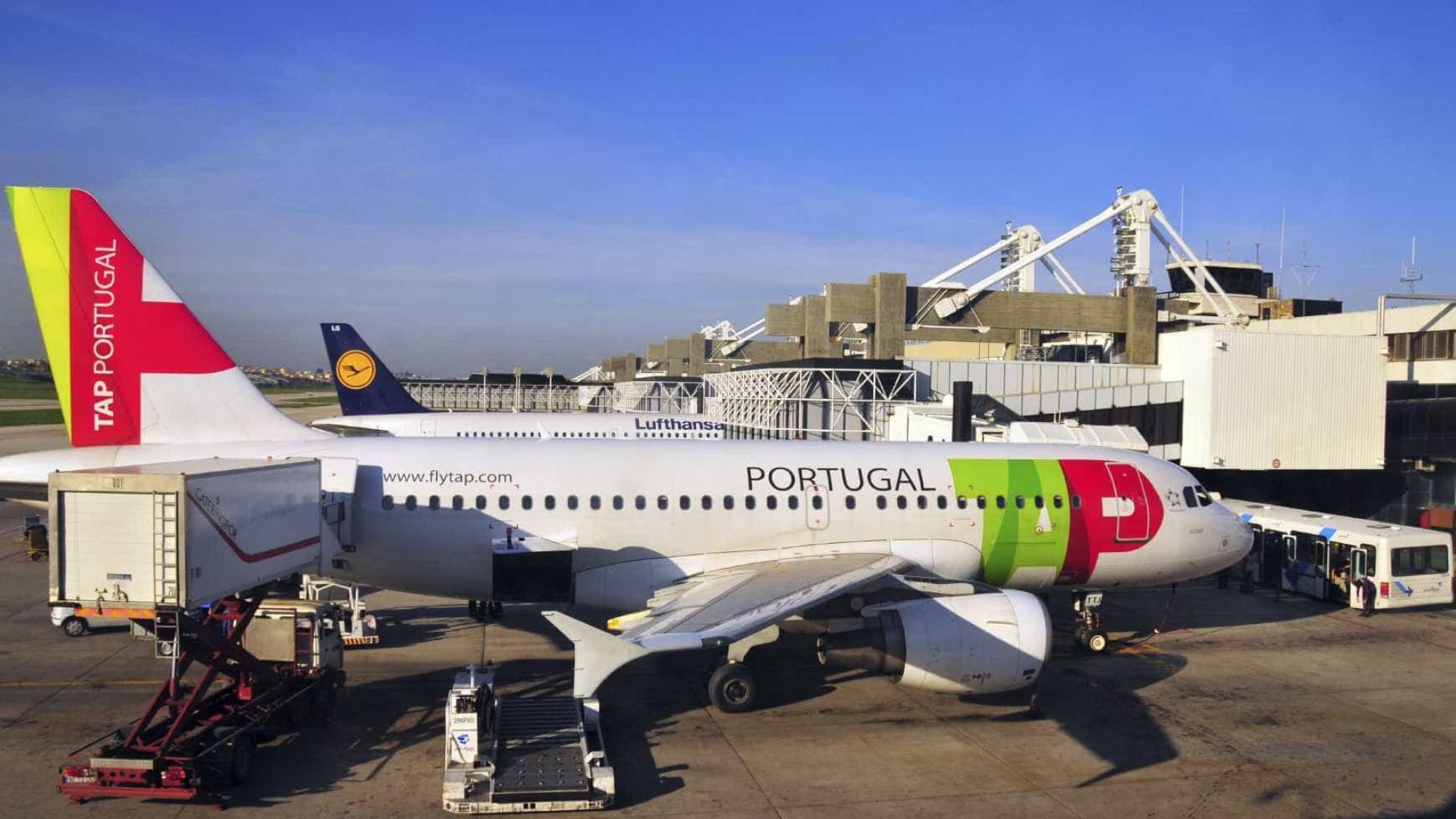 Bagagens de passageiros da TAP regressam a Lisboa após avaria