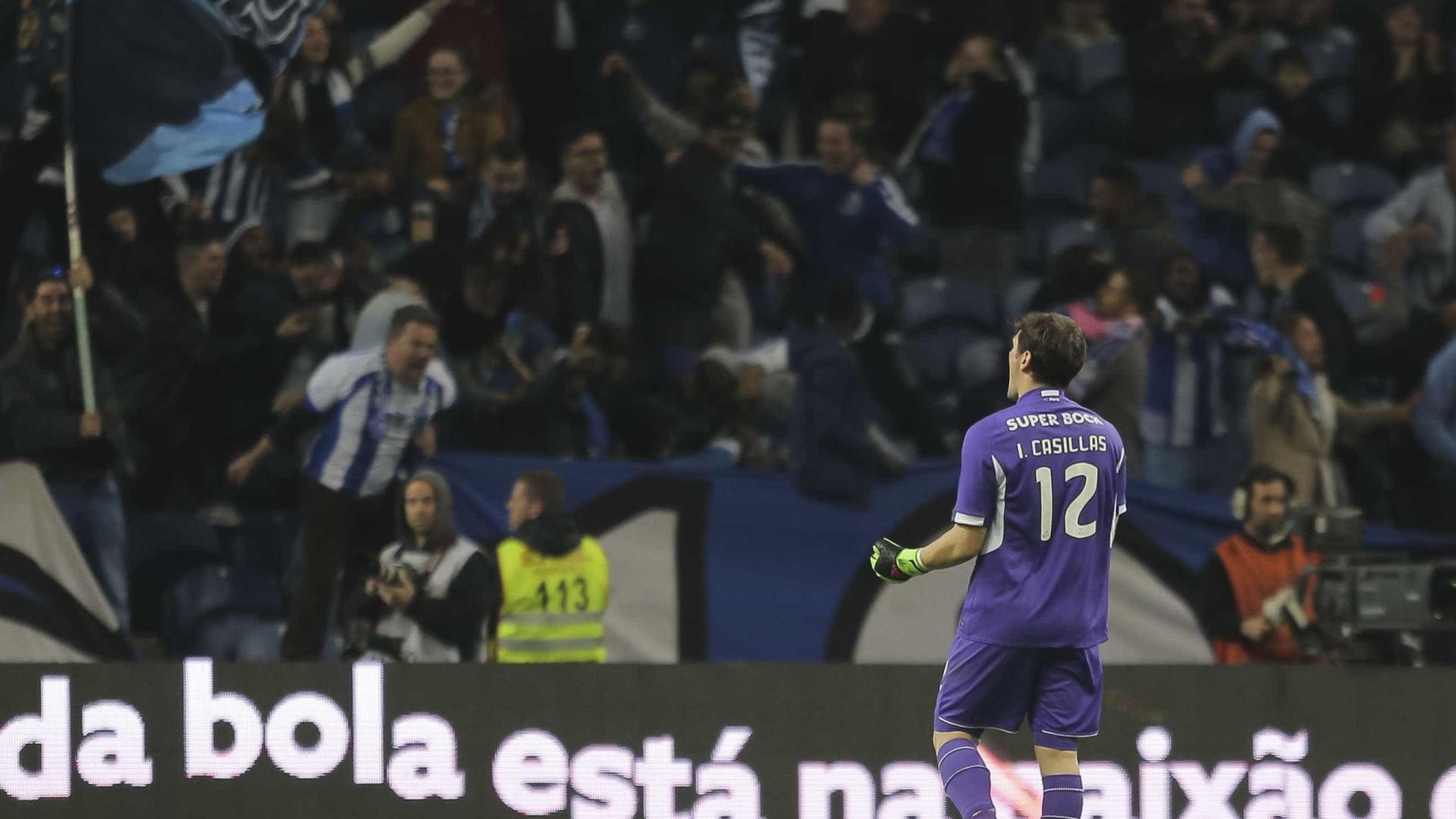 Casillas sente menor pressão sem favoritismo do FC Porto na 'Champions'