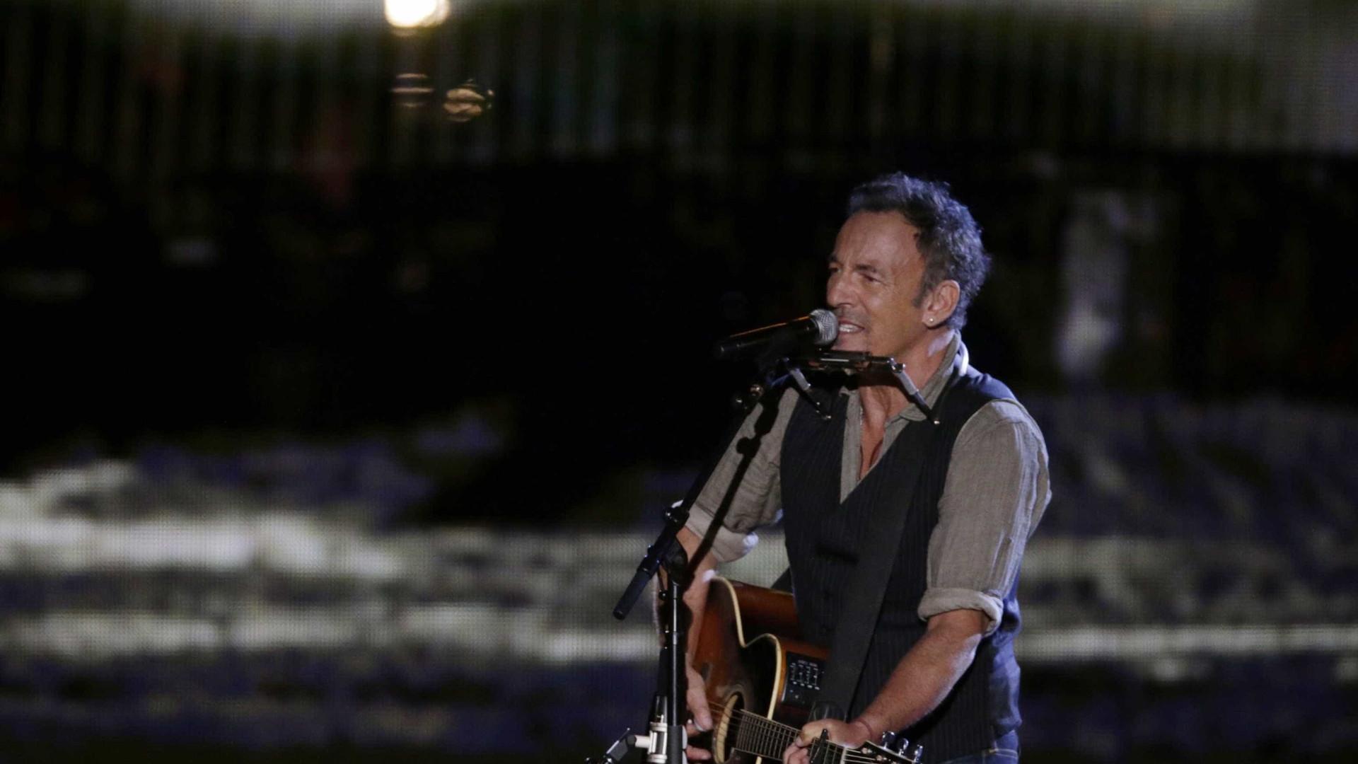 That's What Makes Us Great. Springsteen e o tema de protesto contra Trump