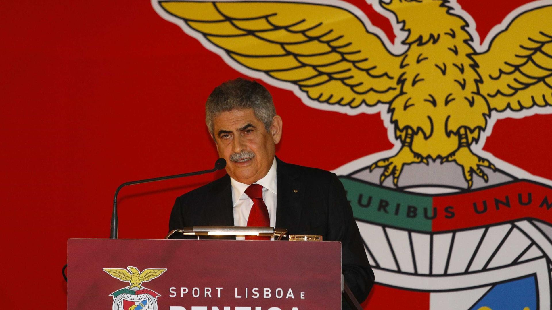 Presidente do Benfica é arguido na Operação Lex