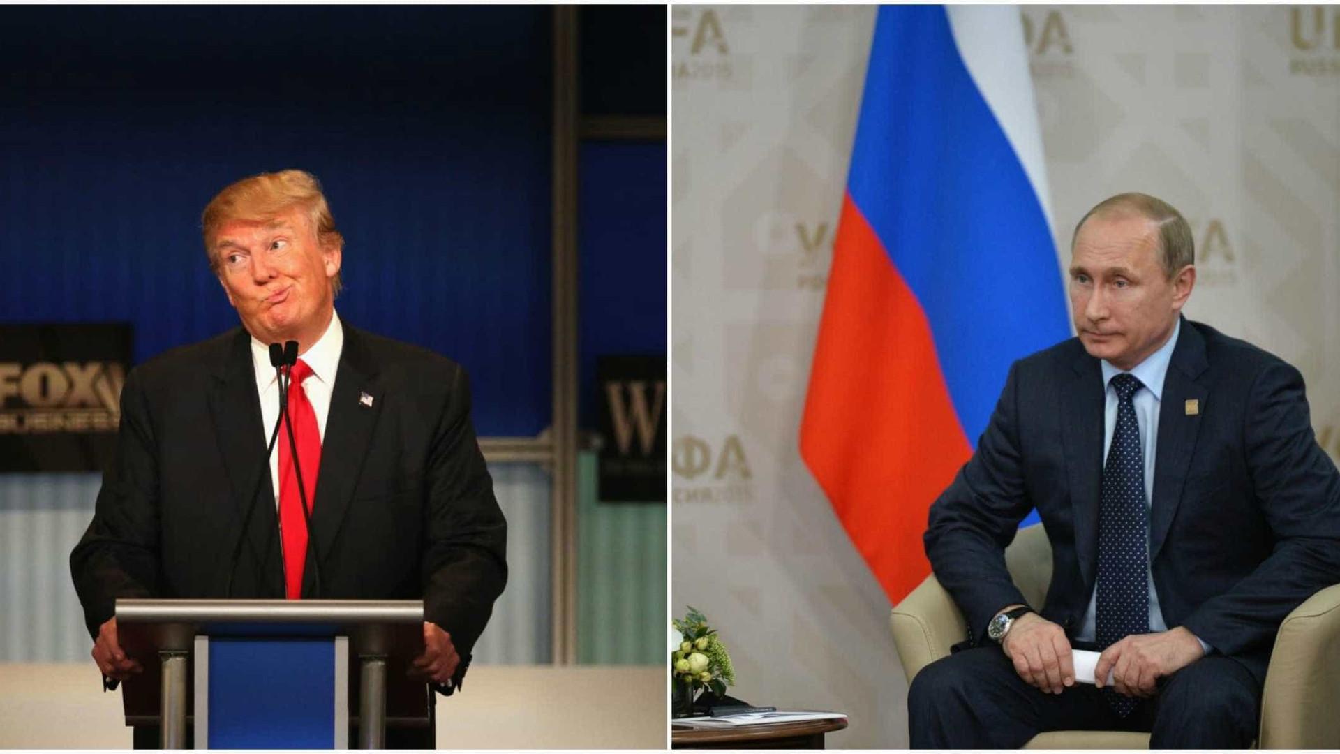 Conselheiros de Trump e oficais russos trocaram pelo menos 18 mensagens