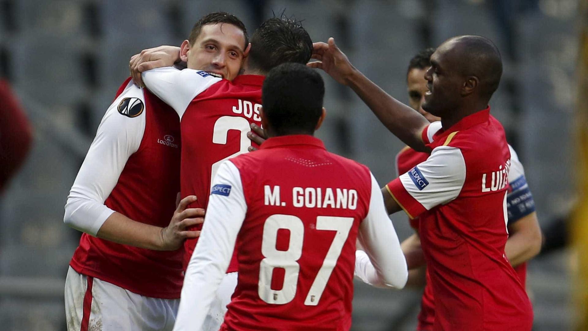 Sp. Braga e Vitória de Guimarães estreiam-se na Liga Europa