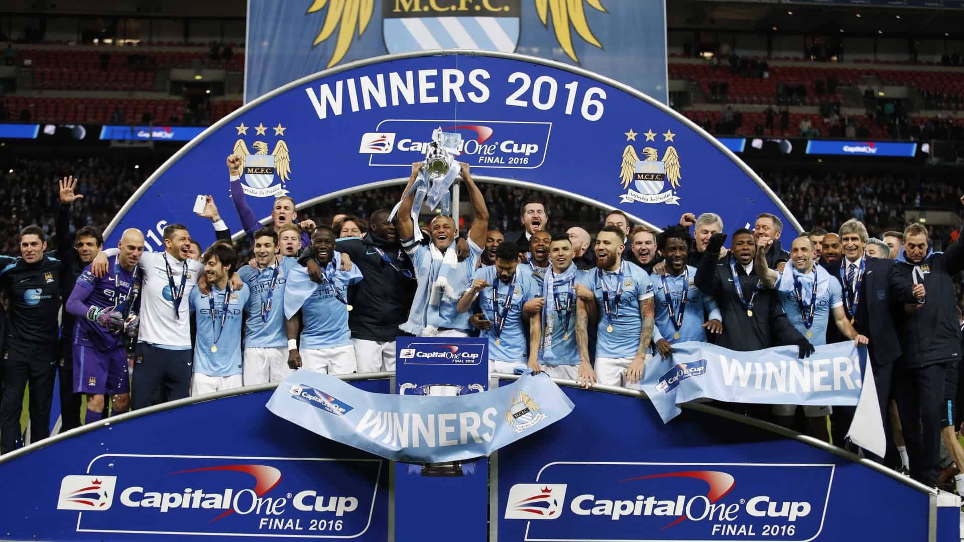 City derrota Liverpool e conquista a Taça da Liga