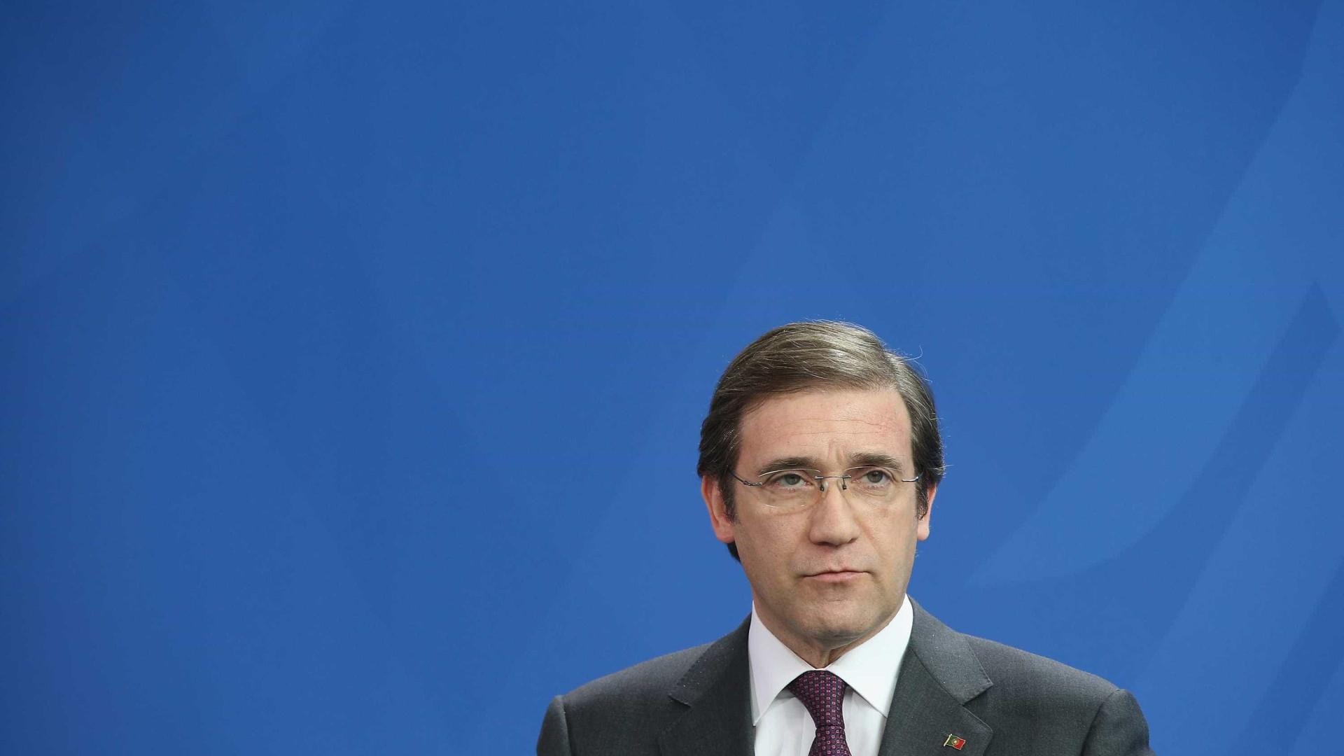 Passos acusa Governo de não ter agenda reformista para Portugal