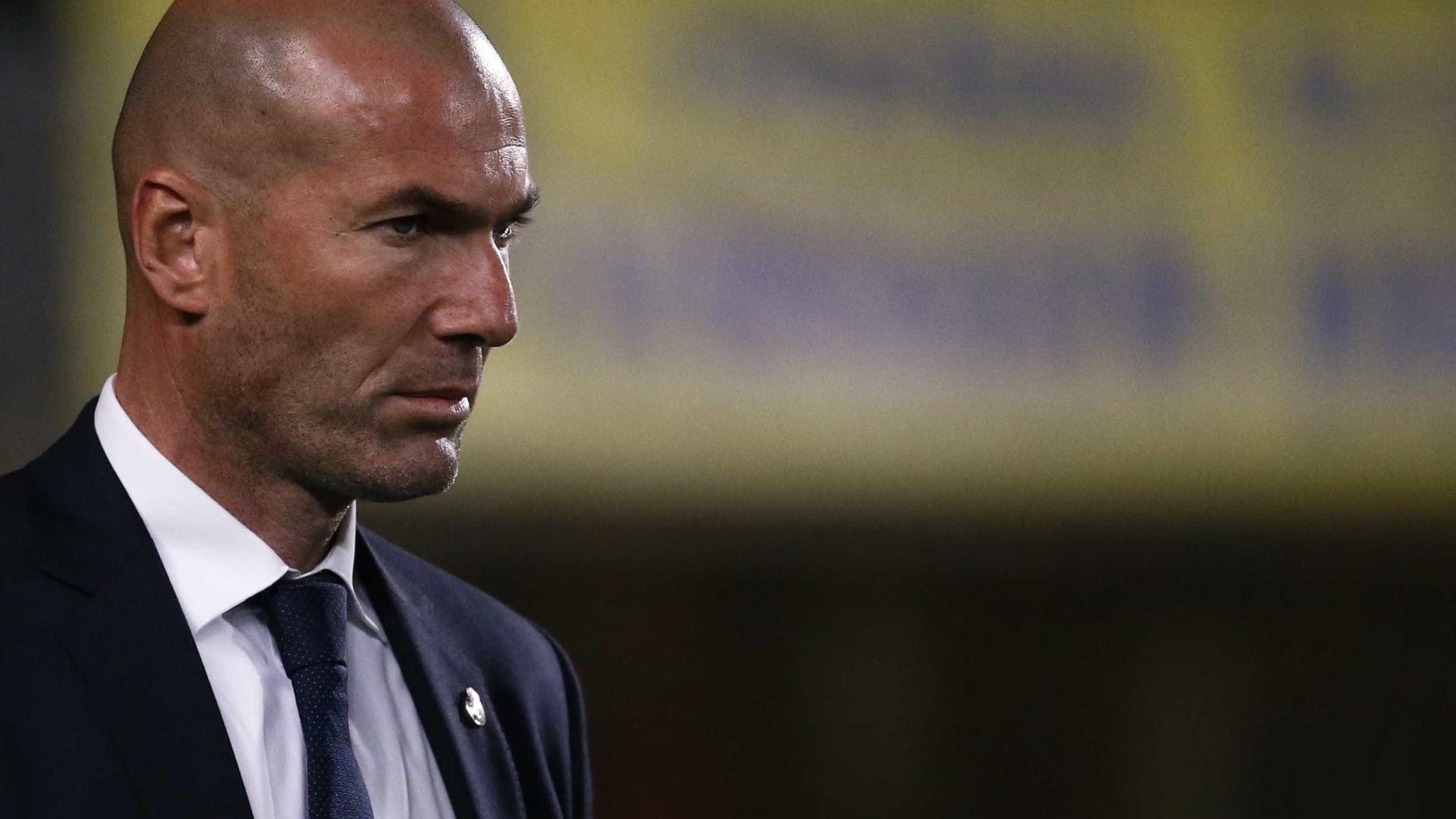 """Zidane desolado: """"Nós não merecemos isto"""""""