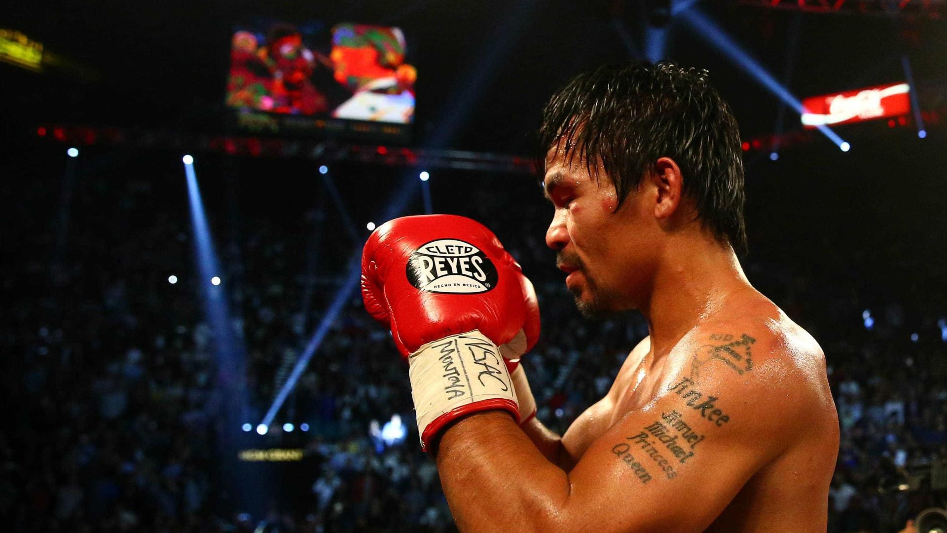 Manny Pacquiao afirma ter iniciado negociações para duelo com — Boxe