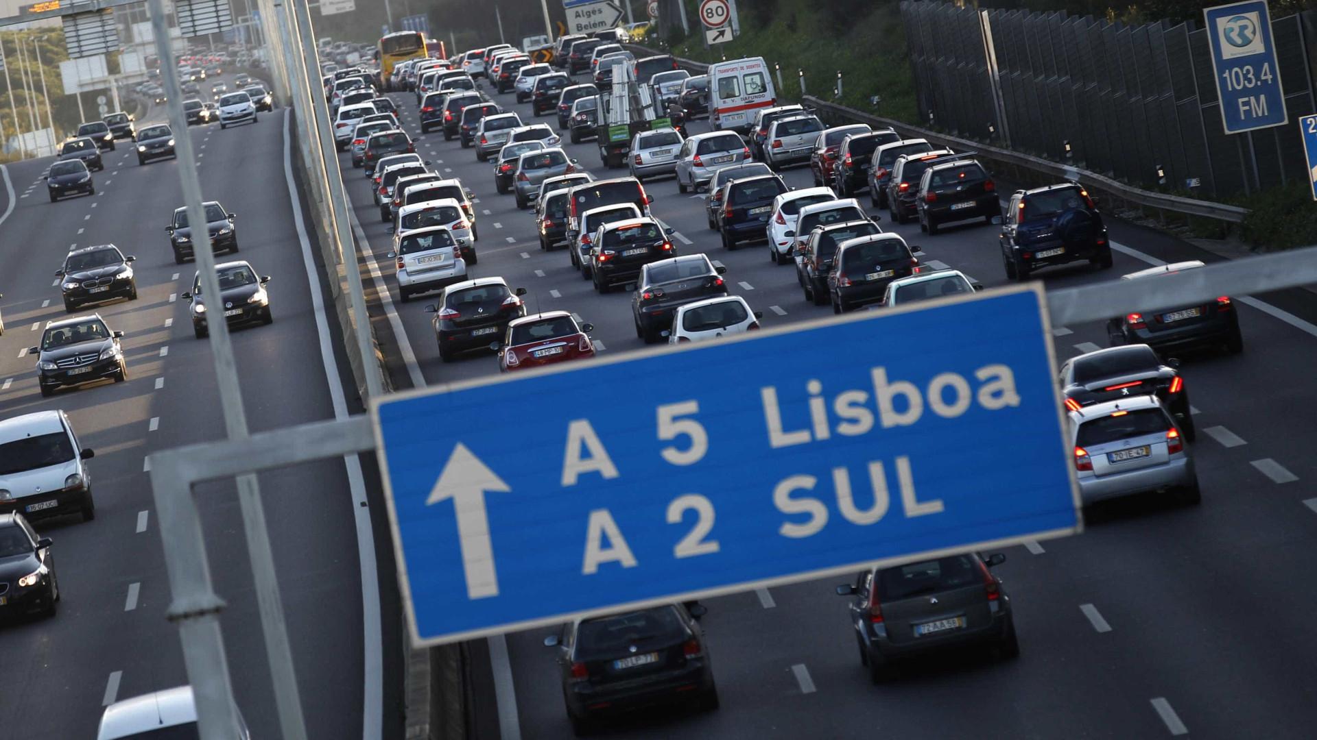 Obras vão condicionar trânsito na A5. Saiba quando