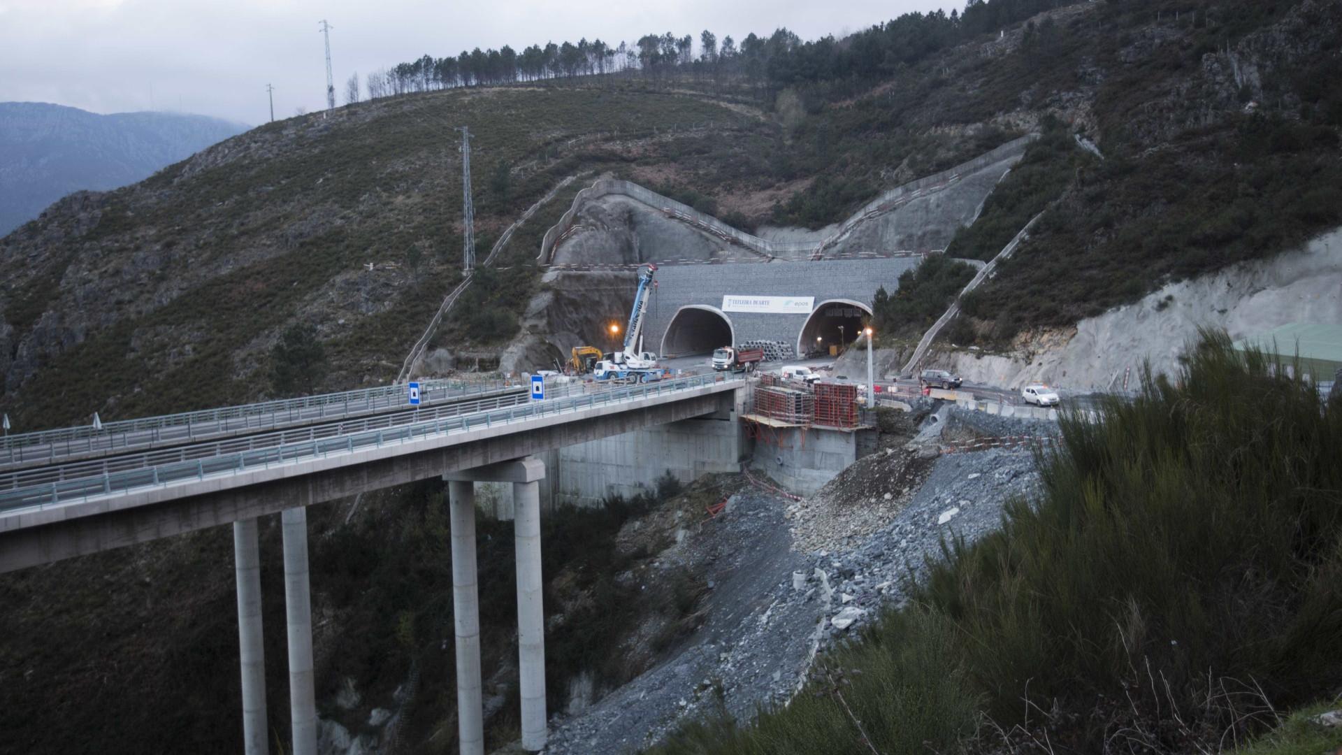 Reposta circulação rodoviária no Túnel do Marão nos dois sentidos