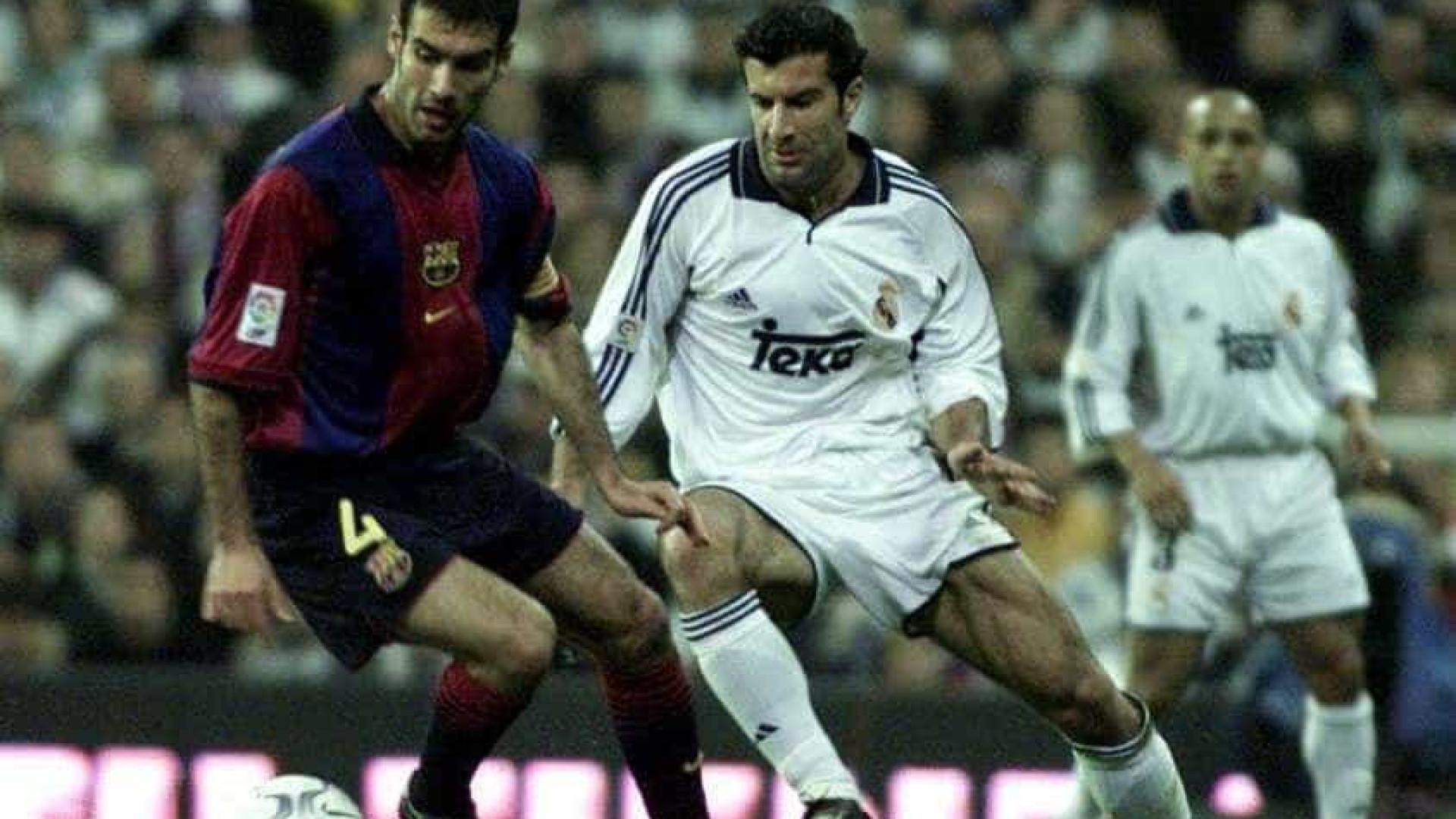 """Ex-Barça lembra 'traição' de Figo e fala em """"rancor desportivo"""""""