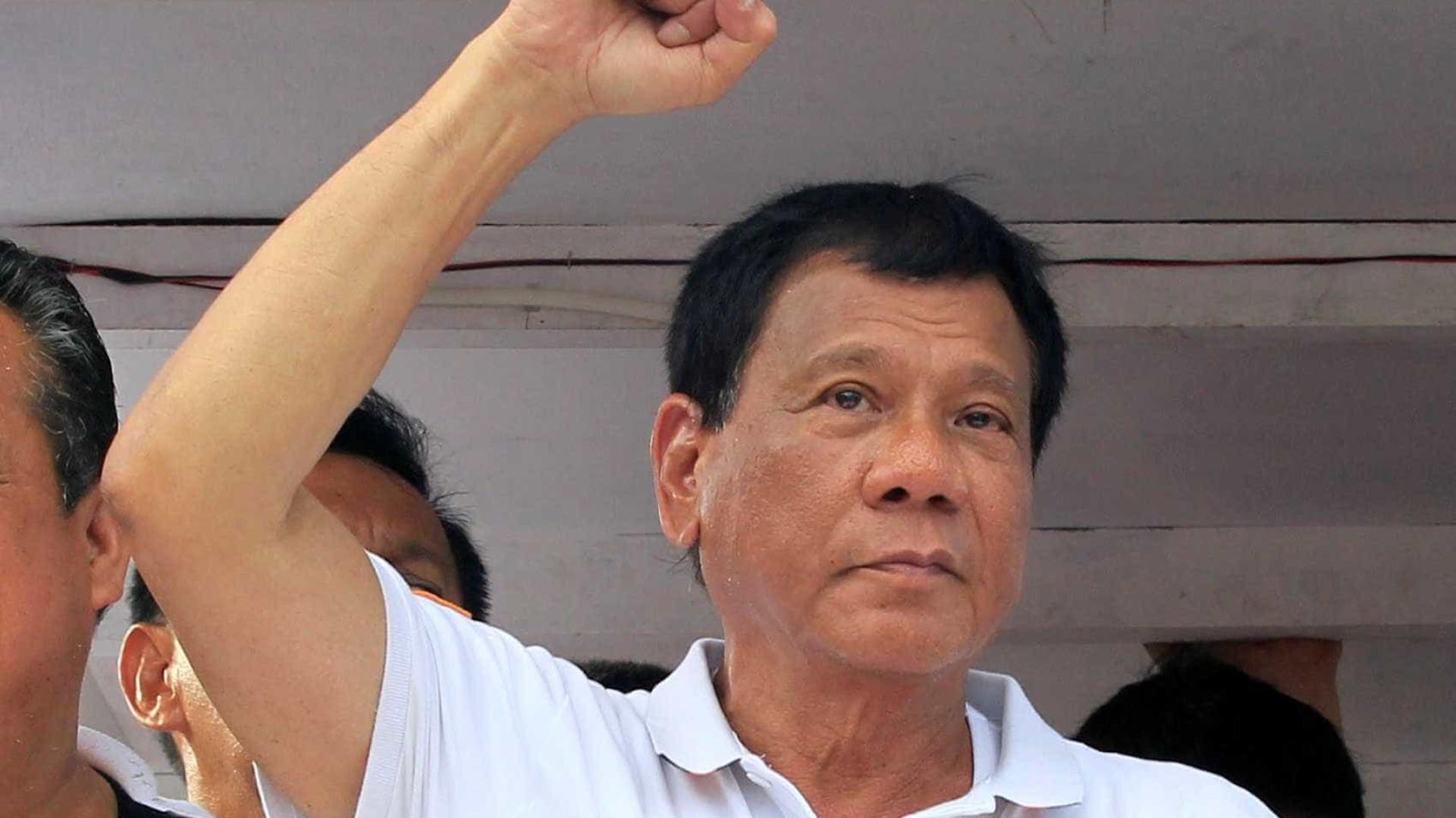 Duterte oferece cerca de 500 dólares a quem matar um rebelde comunista