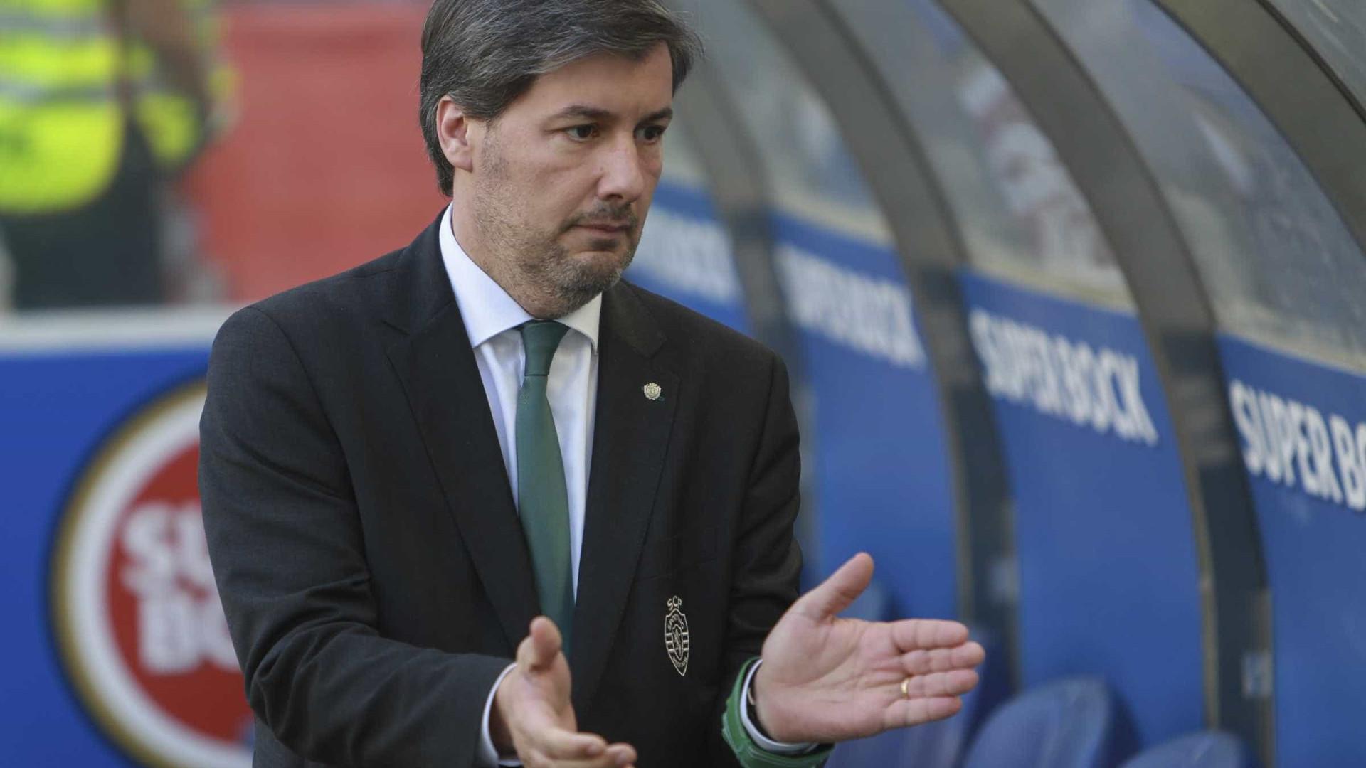 Bruno de Carvalho teve 'noite agitada' com equipa de arbitragem