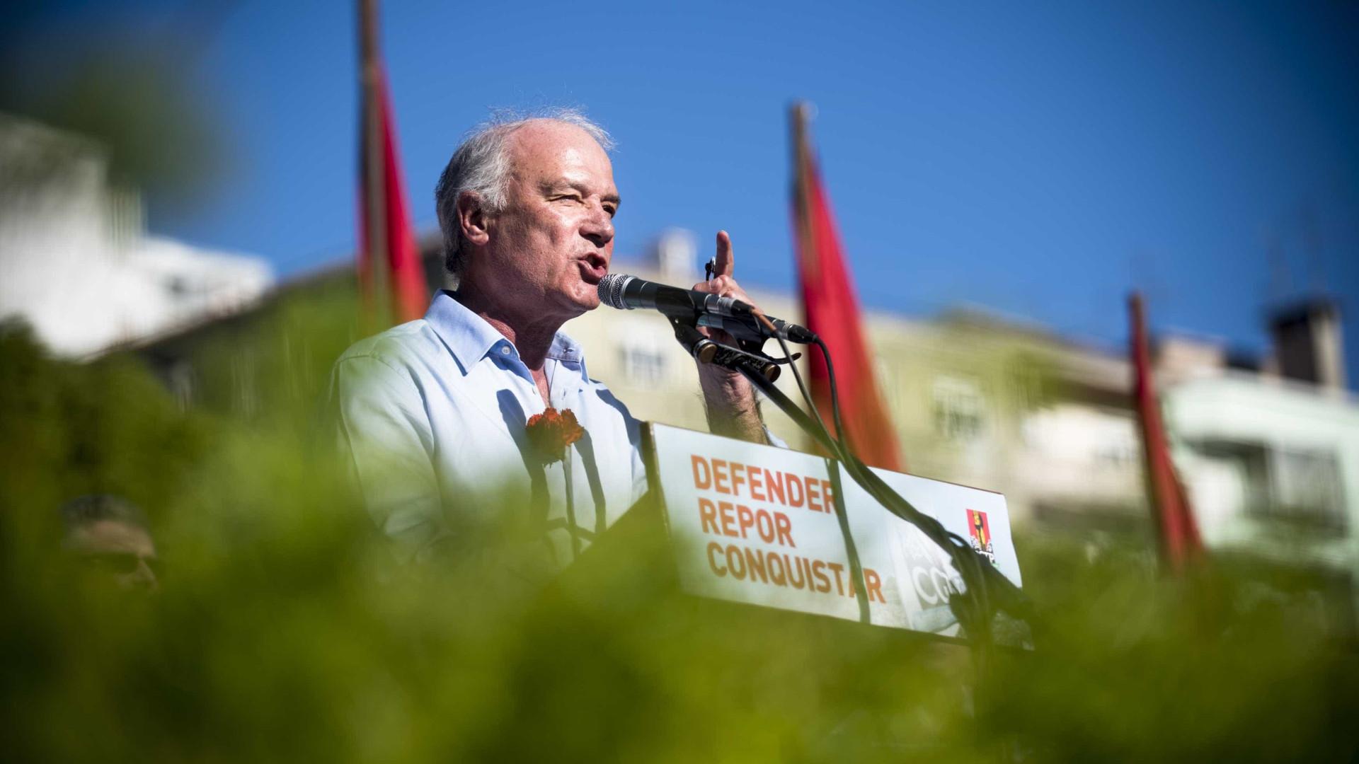 CGTP espera milhares de trabalhadores na manifestação de amanhã em Lisboa