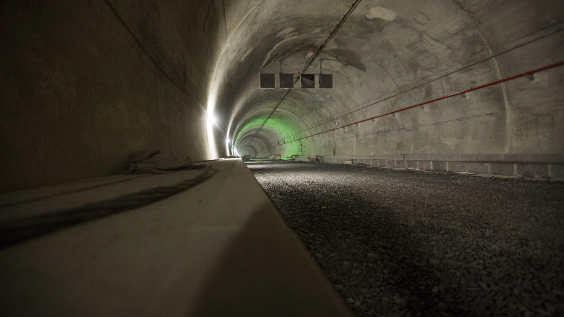 Túnel do Marão com trânsito condicionado para trabalhos de reparação