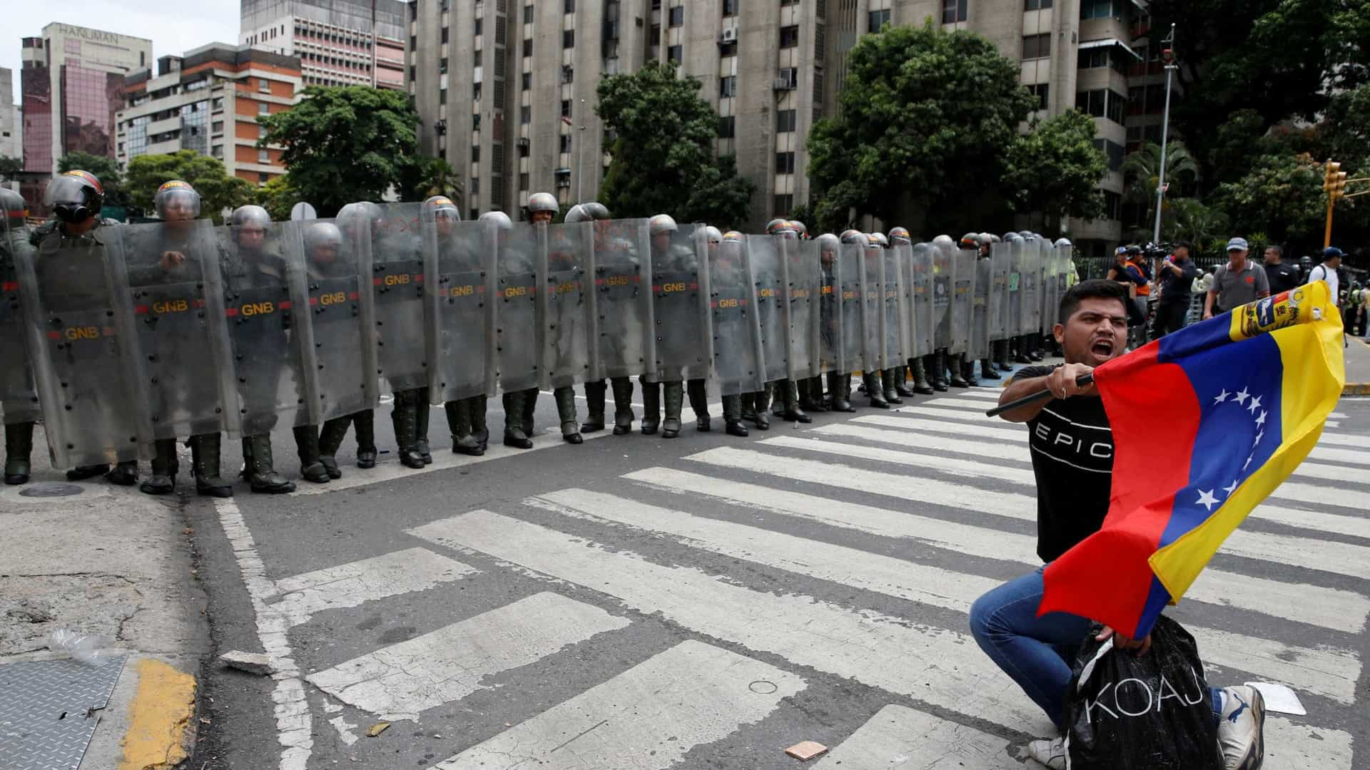 Venezuela: Manifestantes pedem pressão internacional contra eleições
