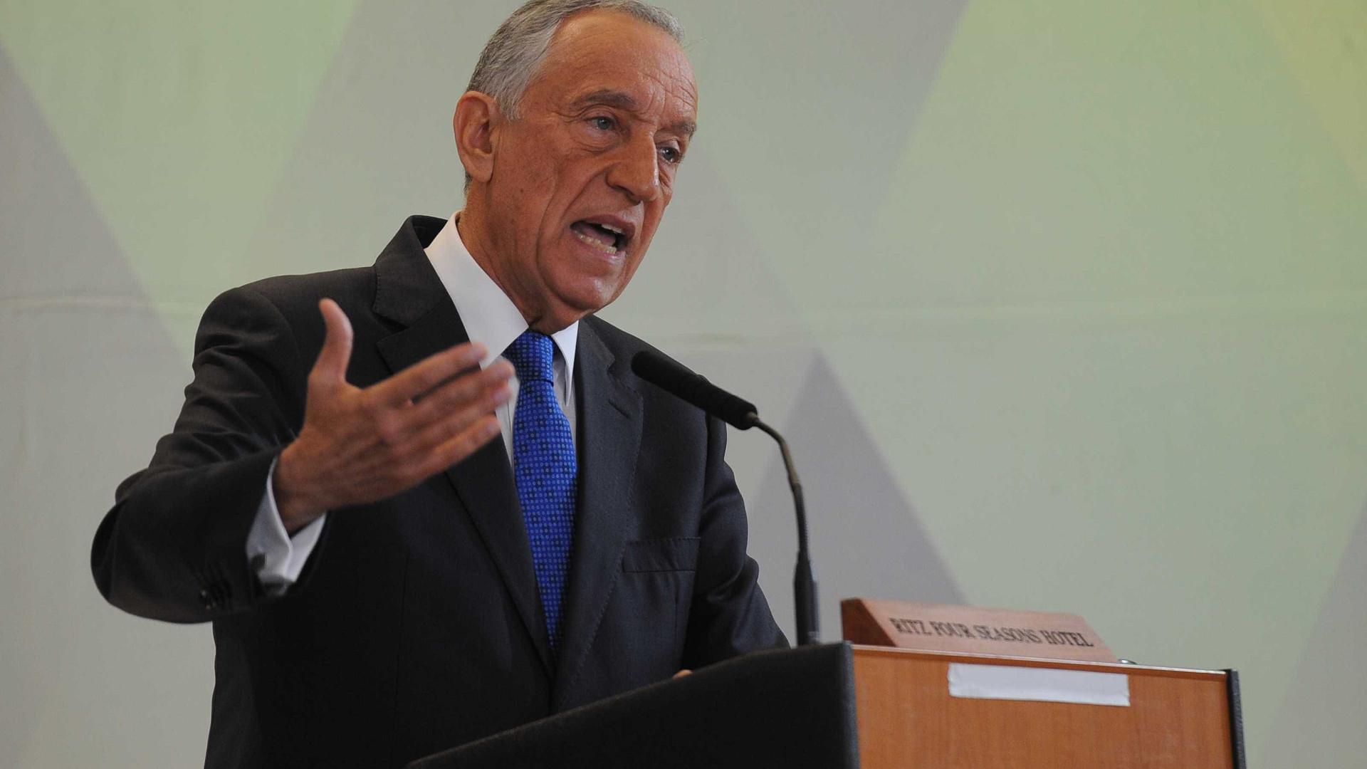 """Presidente da República defende """"respeito"""" para a instituição militar"""