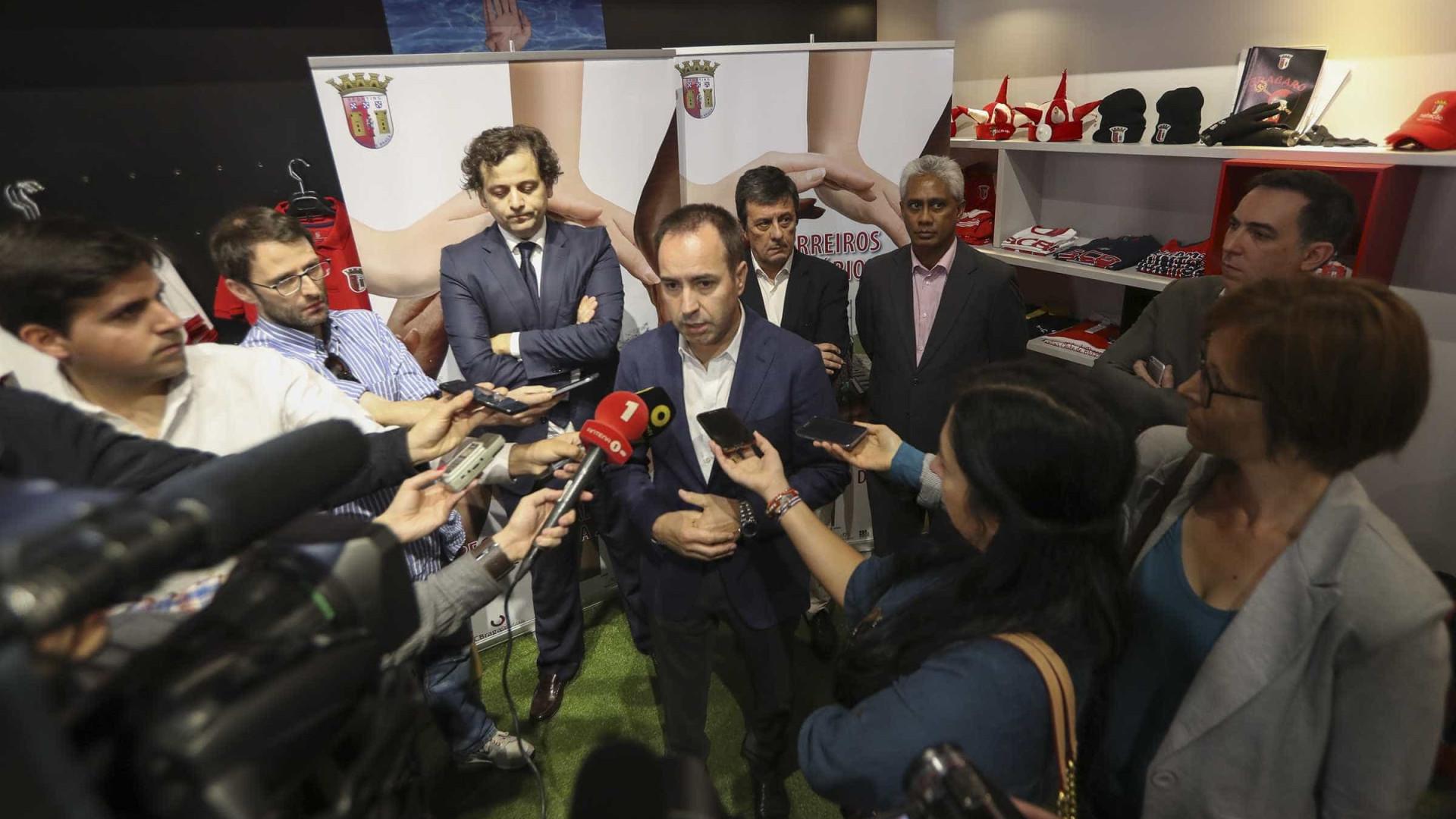 António Salvador quer final da Liga Europa entre Sp. Braga e Vitória