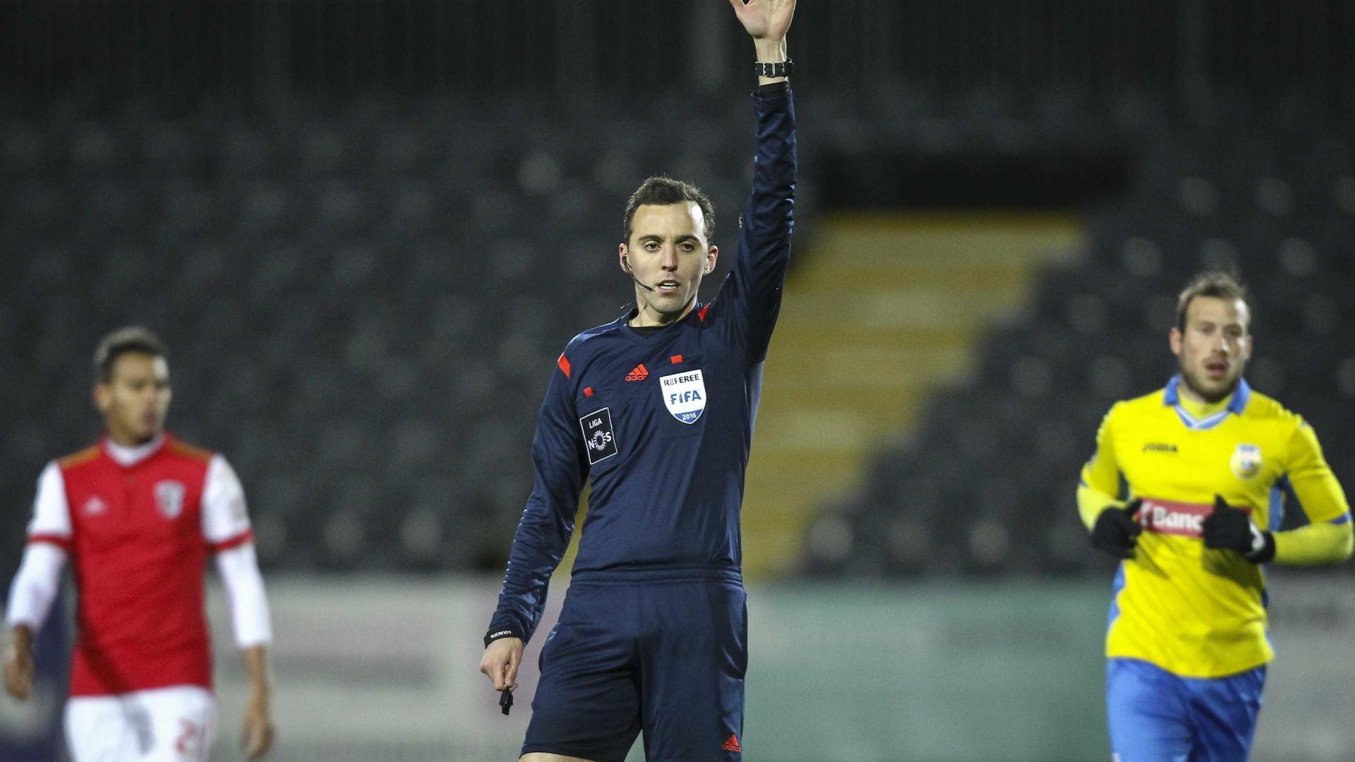 Já é conhecido o árbitro para o Sporting-Desportivo das Aves
