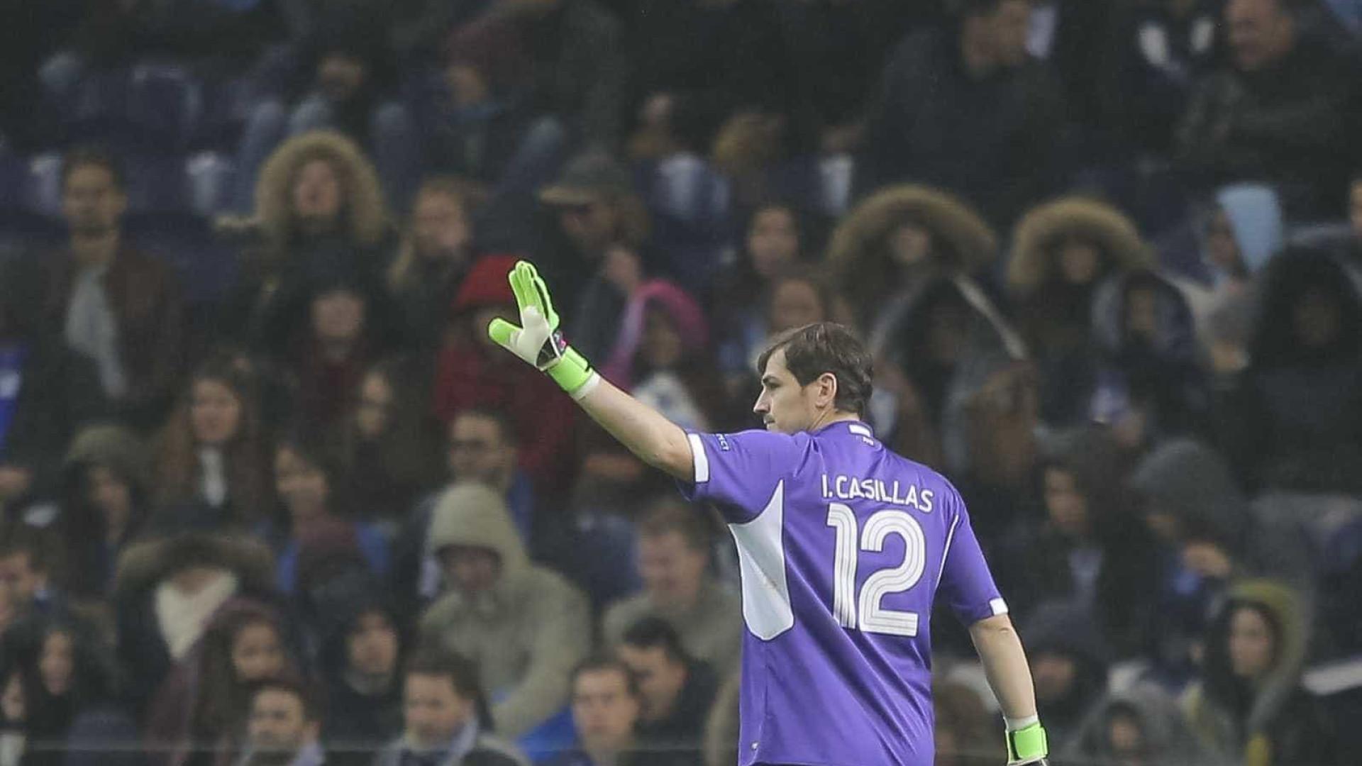 Jogo com Club Brugge foi sinónimo de recorde para Casillas