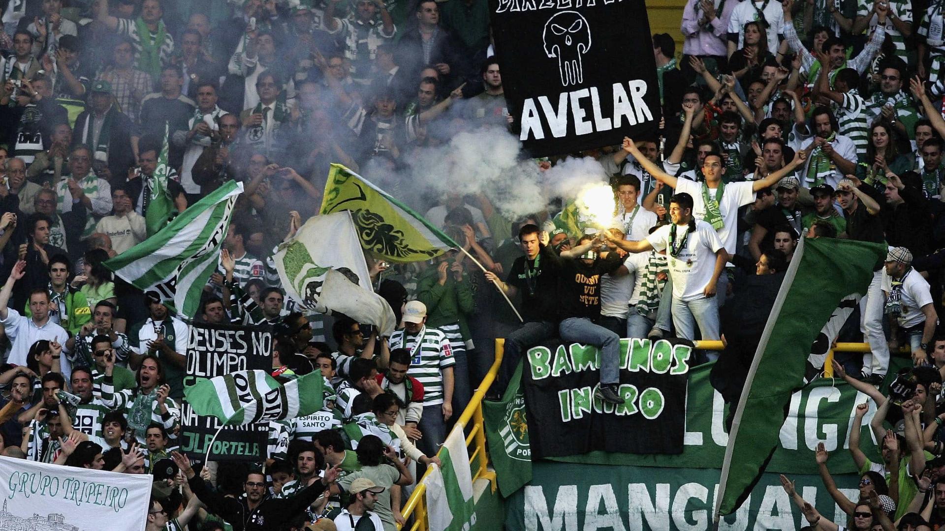 Bruno de Carvalho deixa desafio ao FC Porto devido a cânticos ofensivos