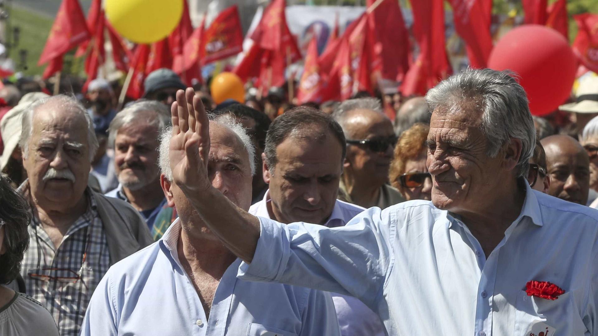 """PCP pede ao Governo reconhecimento """"sem demoras"""" do Estado da Palestina"""