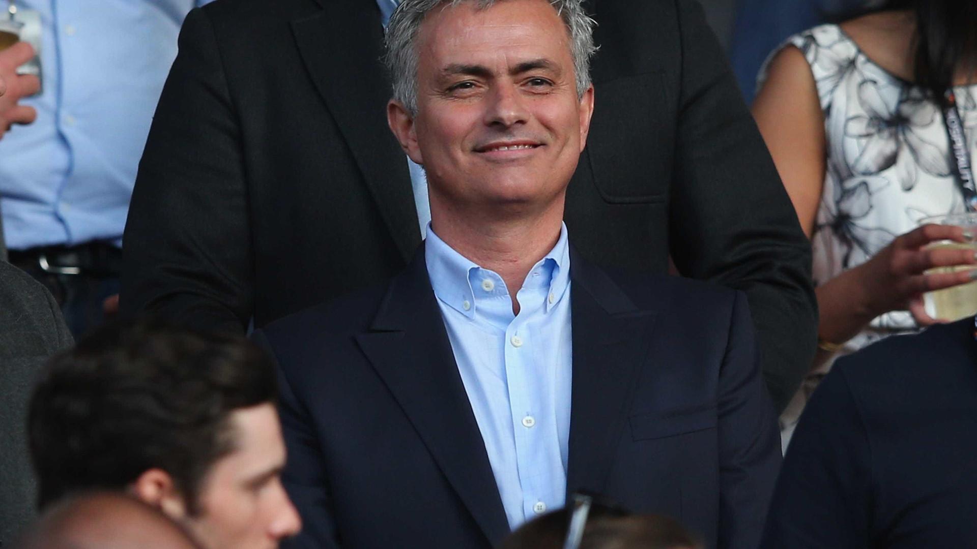Mourinho de olho no homem dos golos 'amaldiçoados'