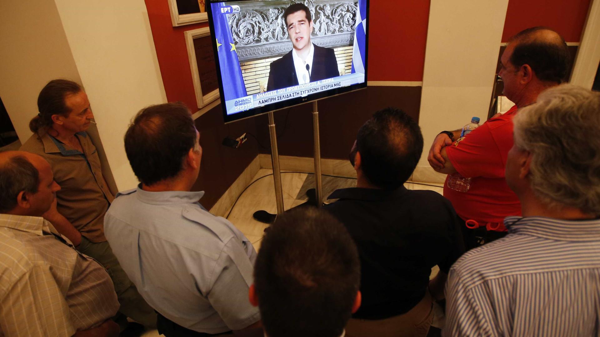 Governo grego prepara-se para limitar o número de canais de televisão