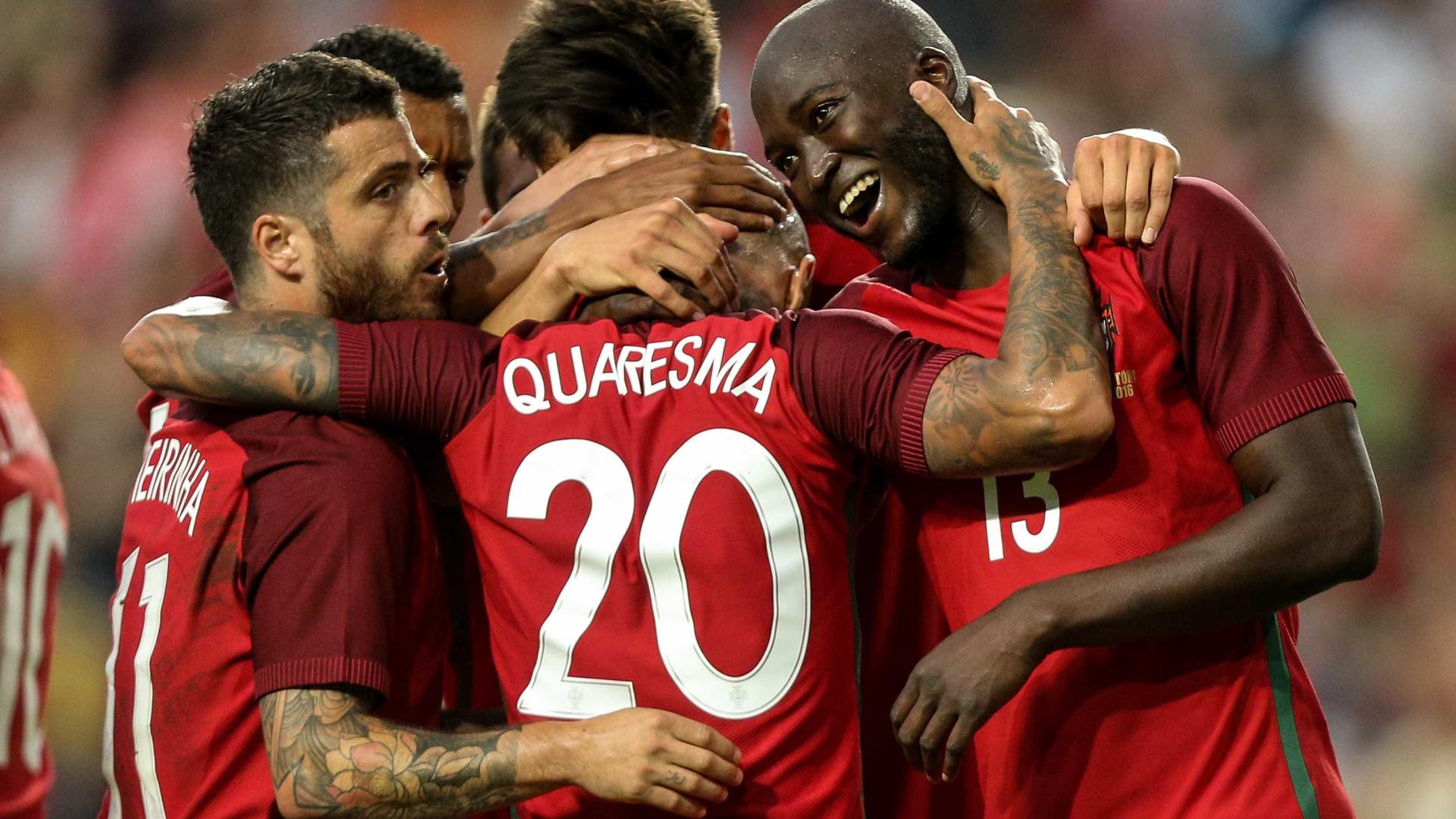 Portugal faz último treino antes da estreia. Quaresma é dúvida 7d24cb675f5a0