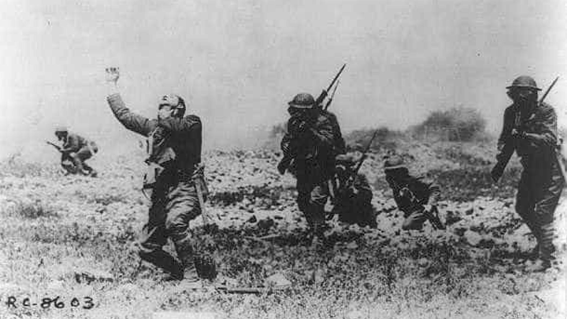 'Soldado Sabino' chega a França no centenário do fim da I Guerra Mundial
