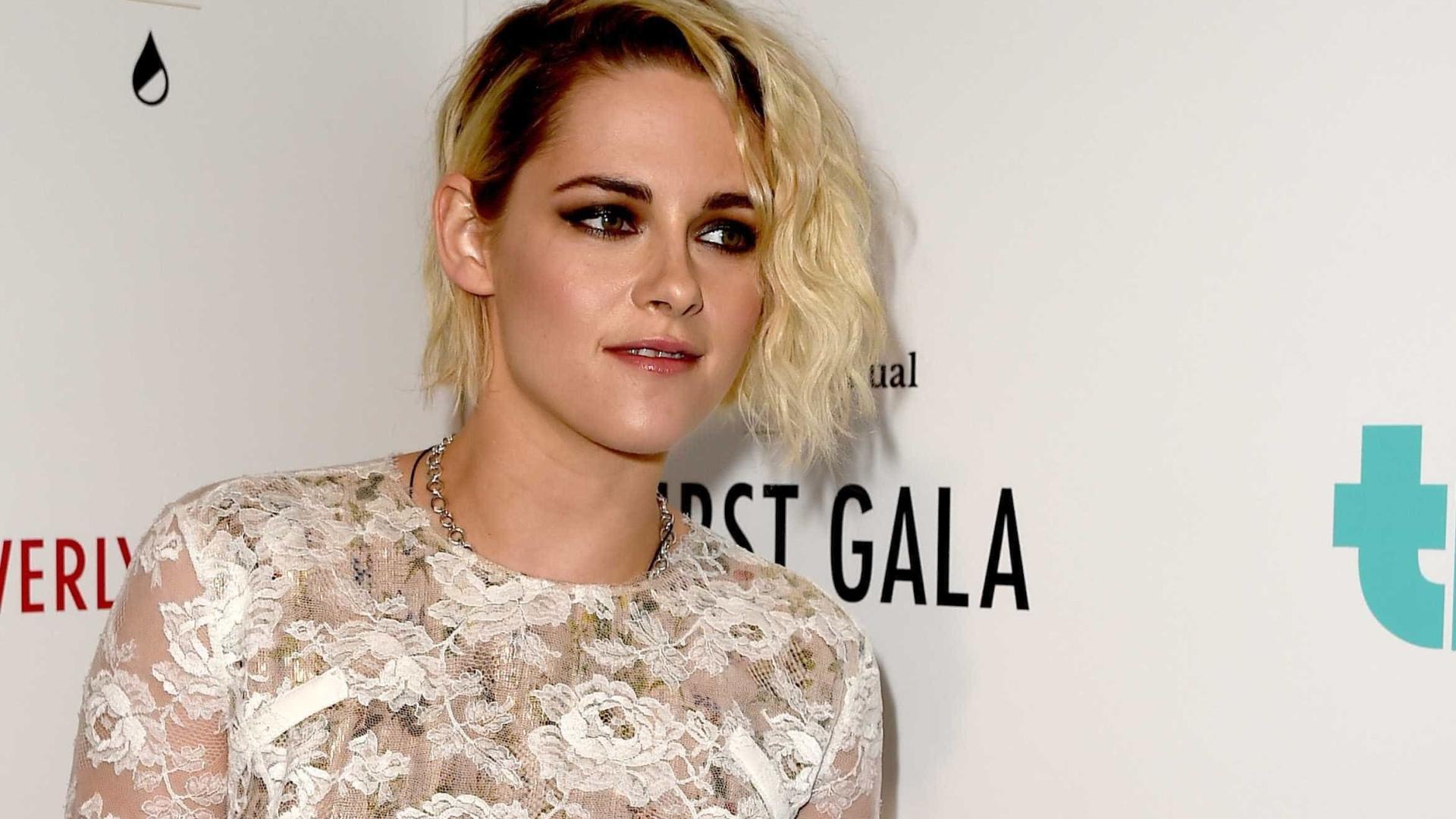 Kristen Stewart não exclui a hipótese de voltar a namorar com homens