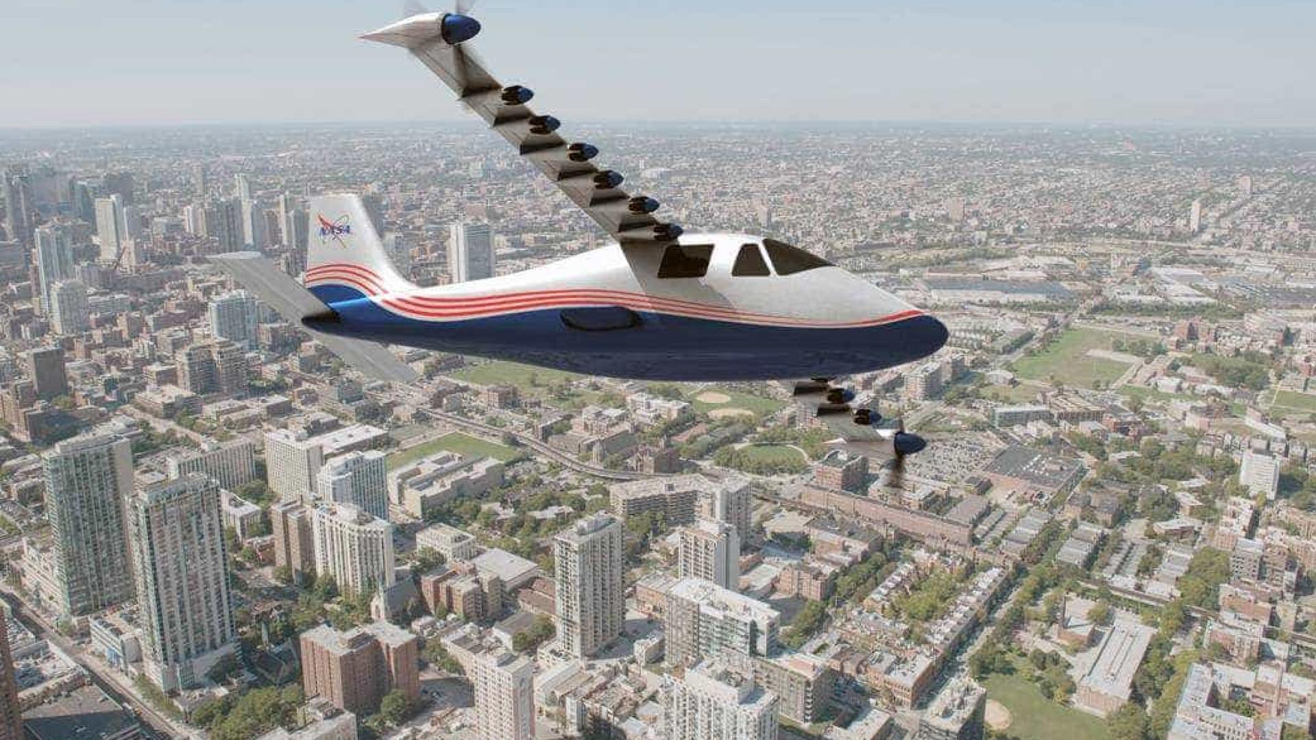 Aviões menos ruidosos? NASA diz que sim e prepara avião híbrido