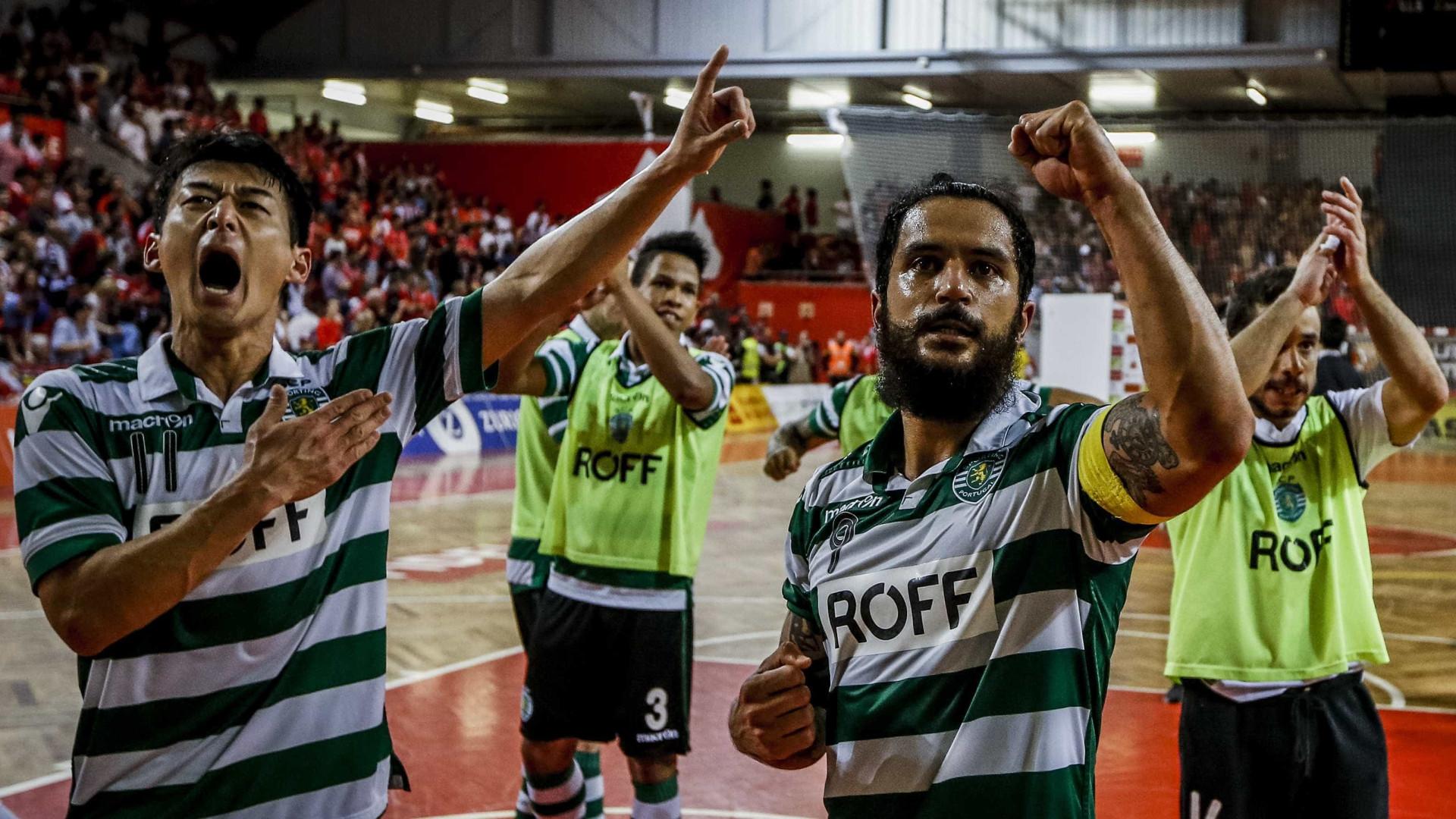 Sporting eleito para organizar Fase de Elite da UEFA Futsal Cup