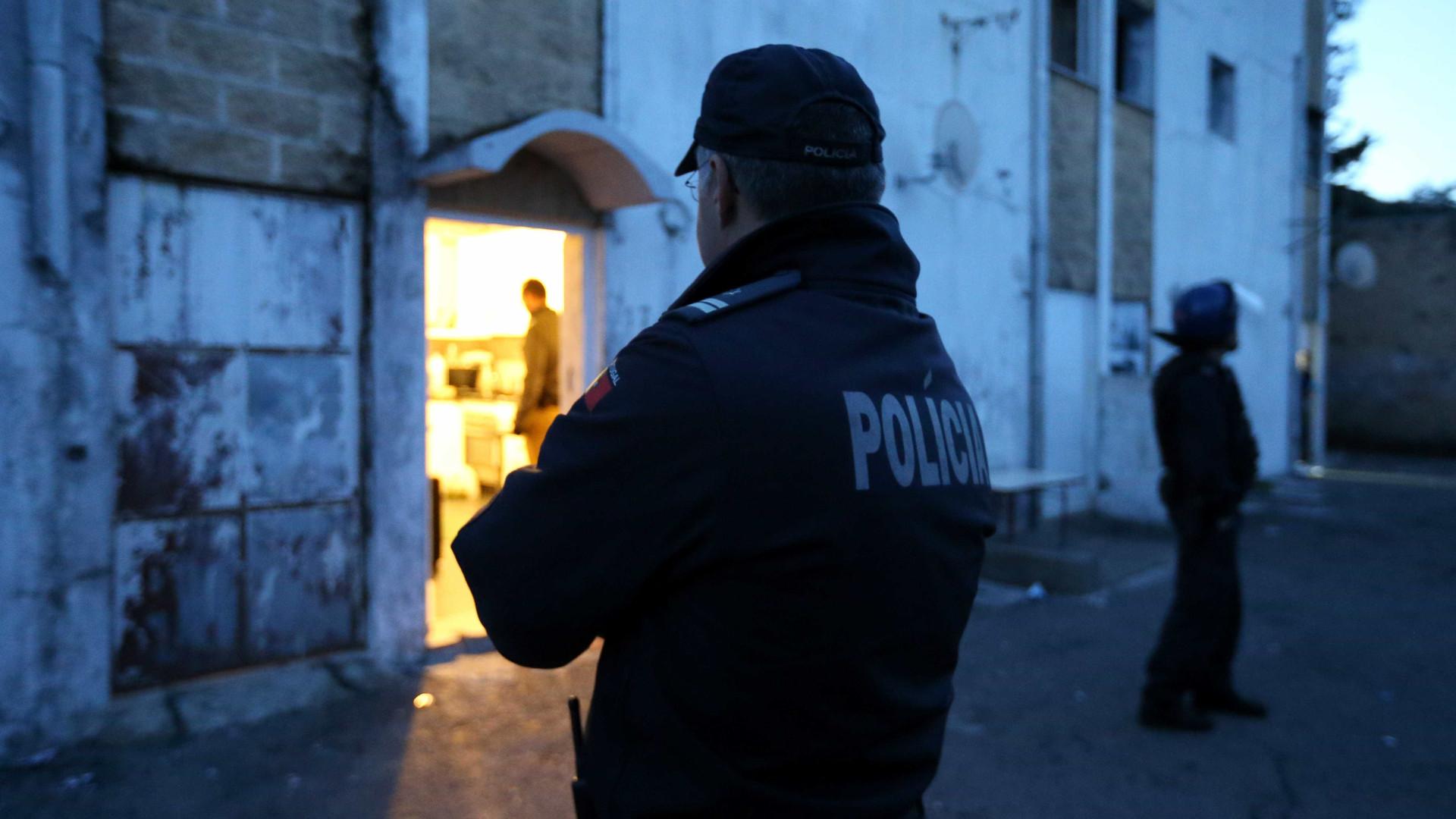 Agente da PSP baleado no Montijo